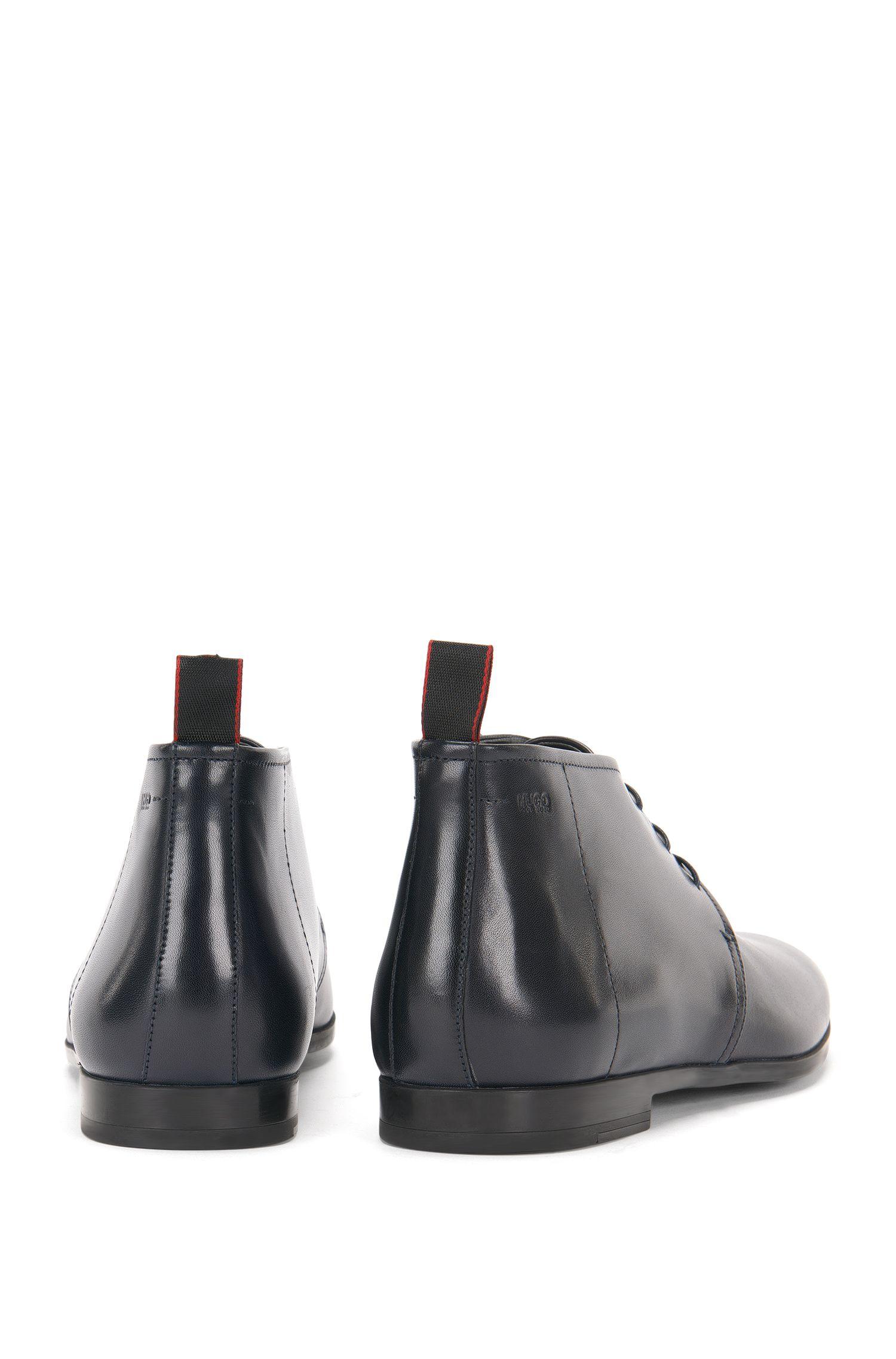 Knöchelhohe Schnürschuhe aus Leder: 'Pariss_Desb_3lt'