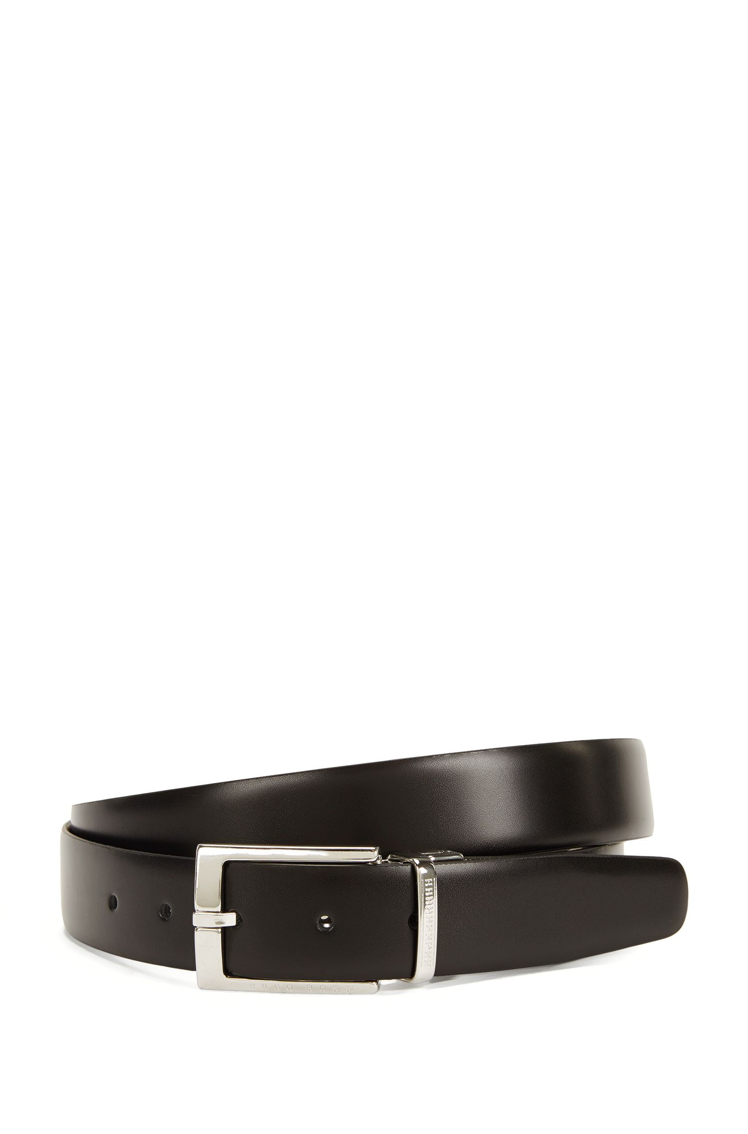 Hand-made reversible leather belt: 'Orrell_Or32_pp'