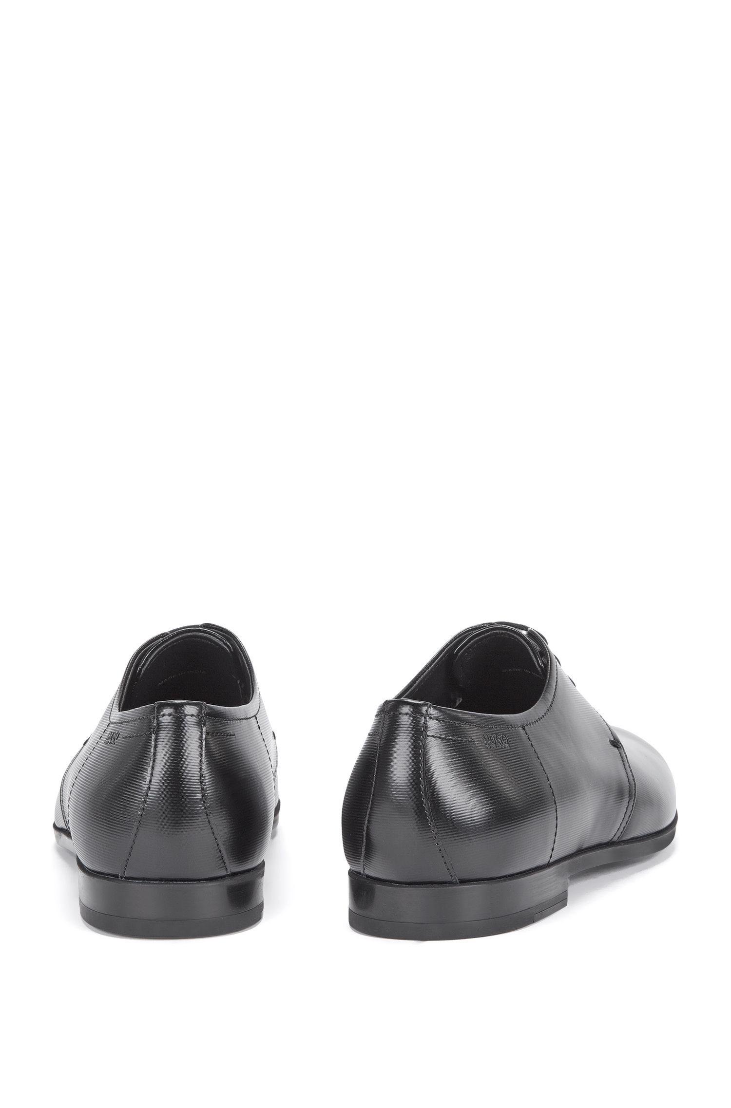 Schnürschuhe aus Leder mit feiner Struktur: 'Pariss_Derb_3lt'