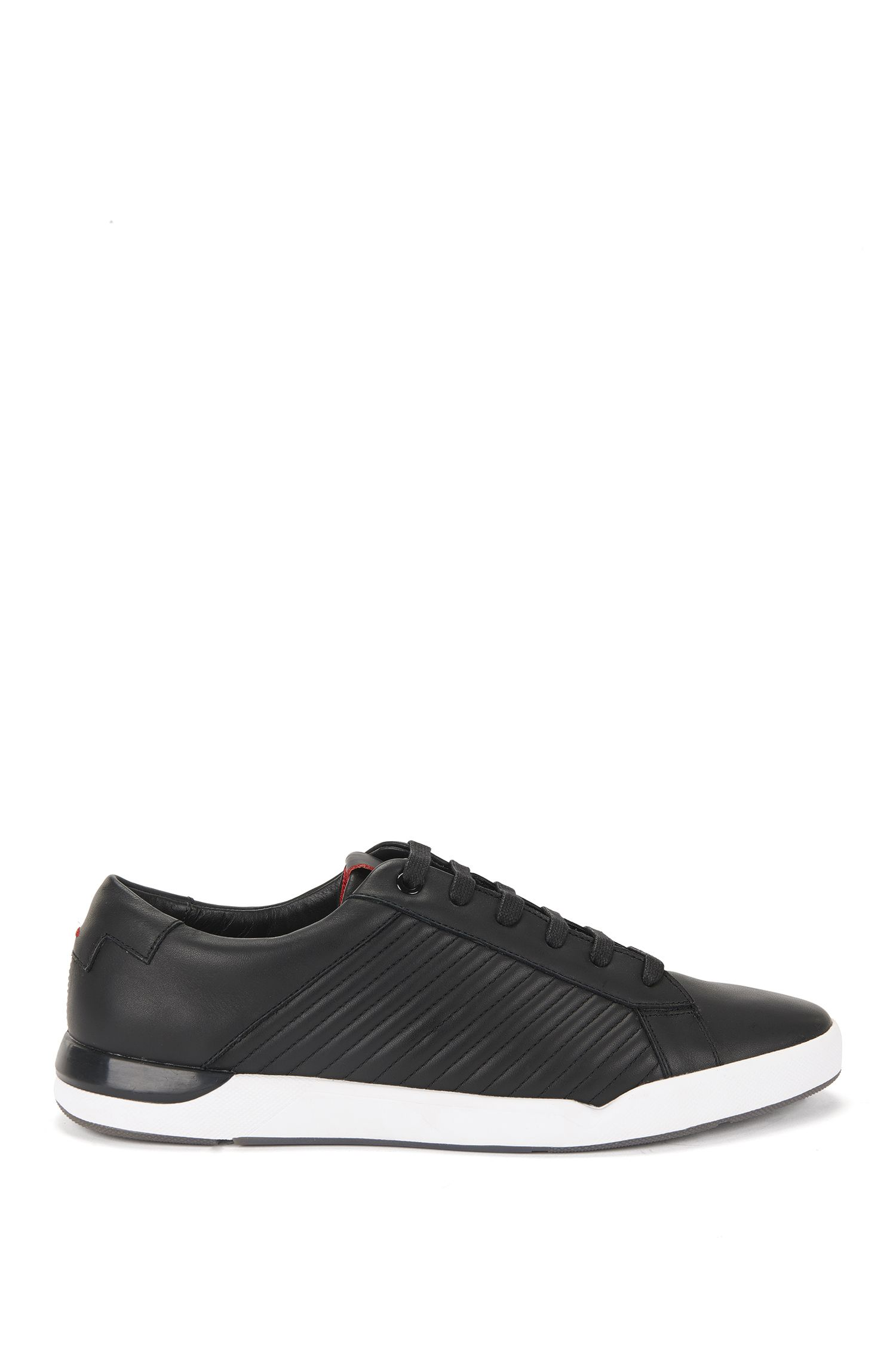 Sneakers in pelle con impunture: 'Fusion_Tenn_Itma'