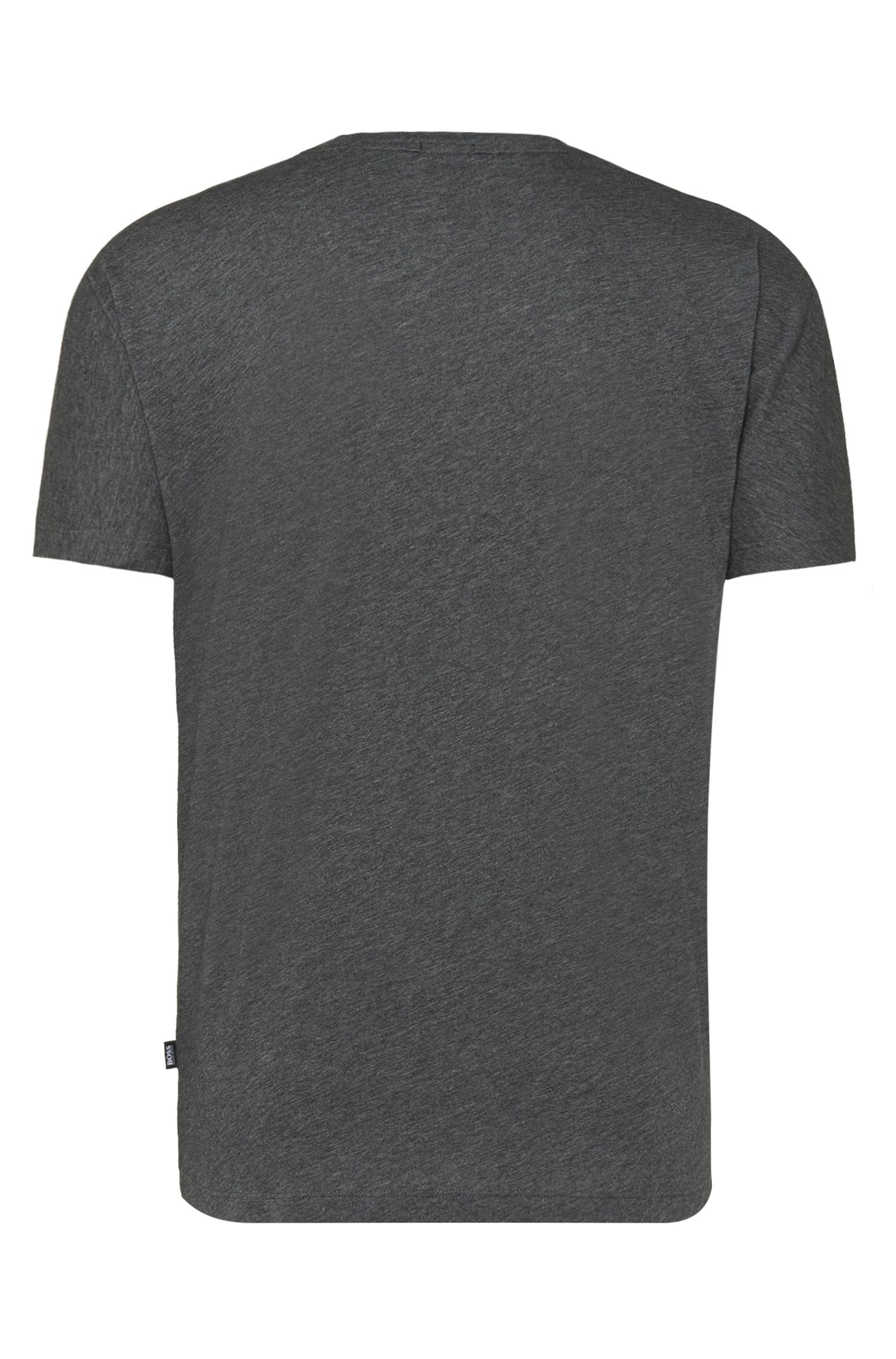 T-shirt Regular Fit en coton à motif : « Tiburt 14 »