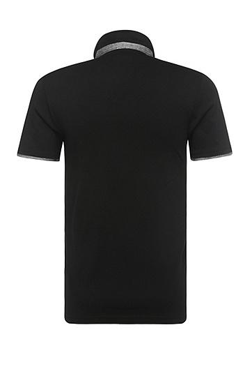 Poloshirt aus Jersey: ´Playott`, Schwarz