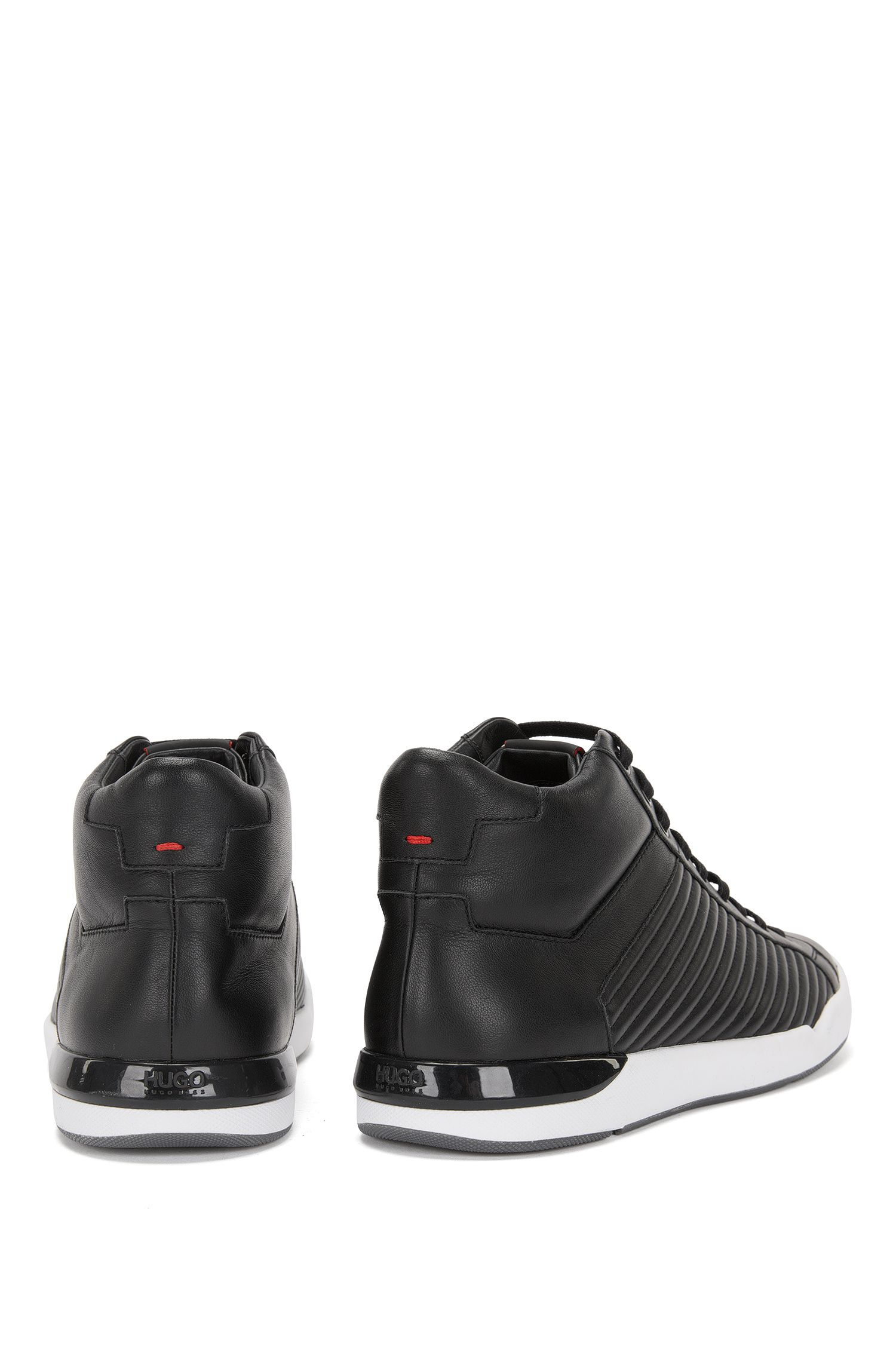 High Top Sneakers aus Leder: 'Fusion_Midc_Itma'