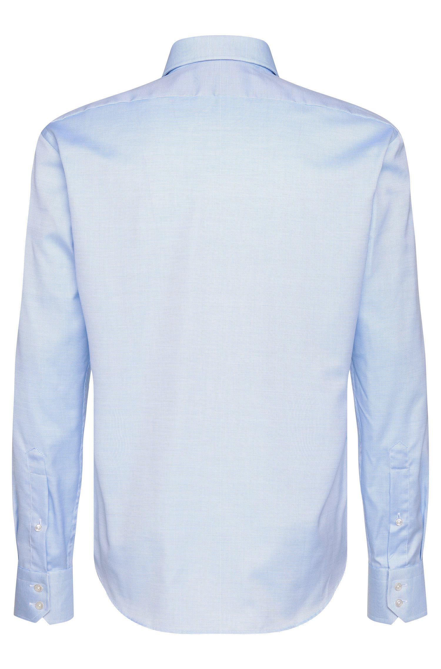 Travel Line Regular-Fit Hemd aus bügelfreier Baumwolle: 'Gordon'