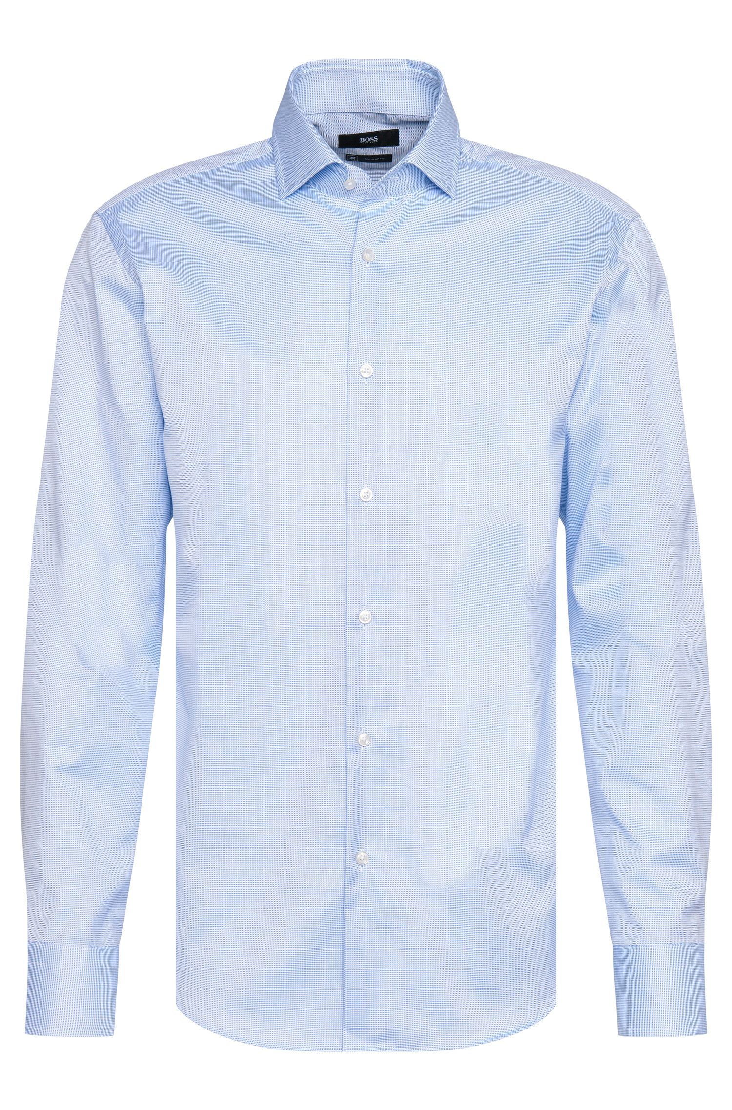 Chemise Regular Fit Travel Line en coton sans repassage : « Gordon »