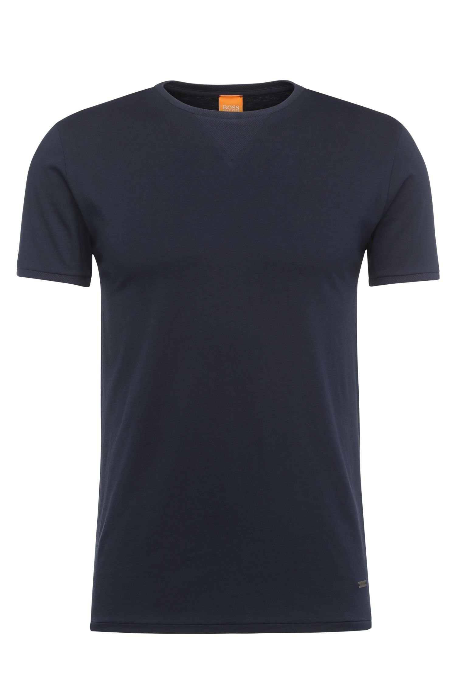 T-shirt Regular Fit en jersey mélangé : « Toern »