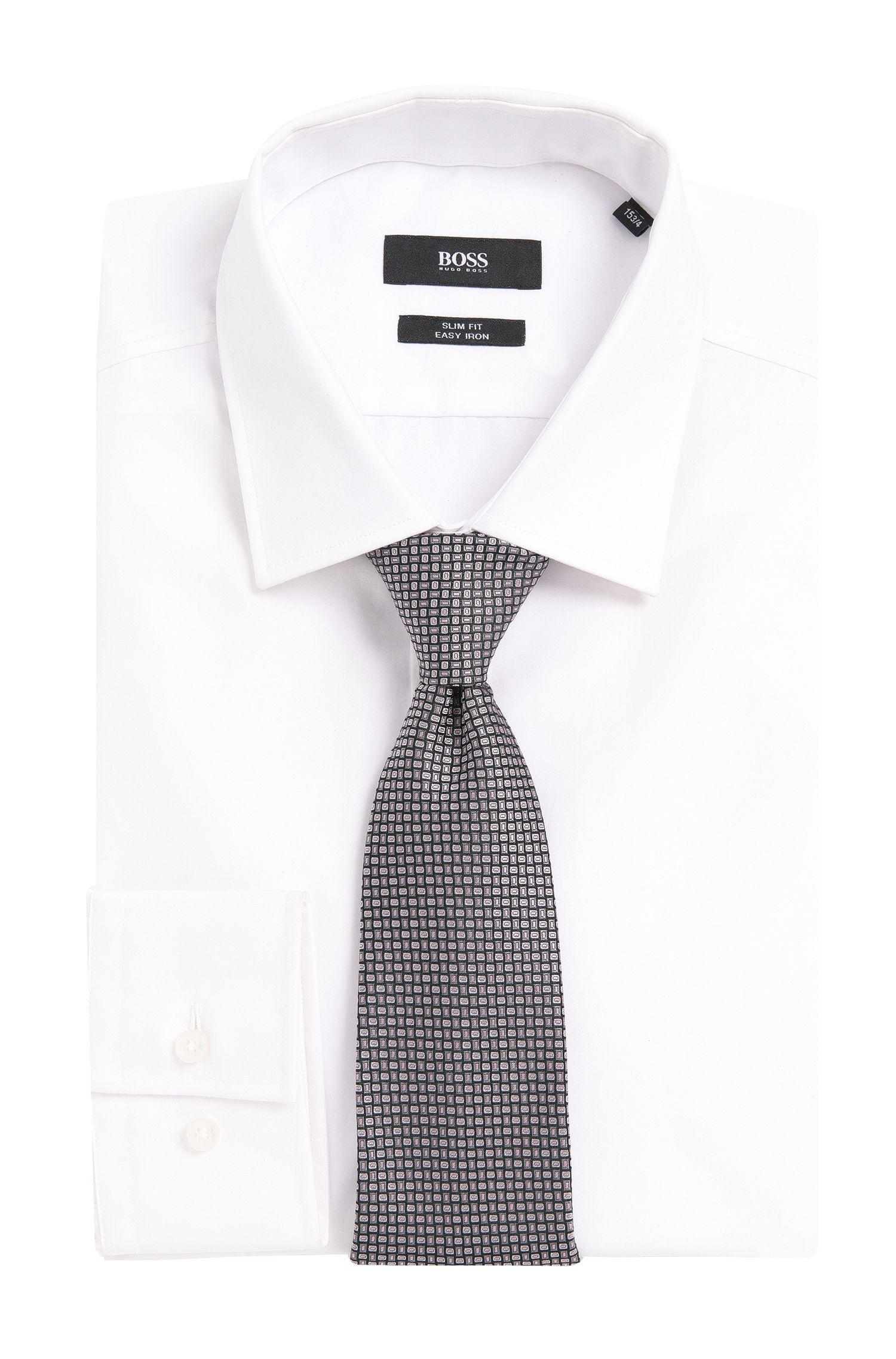 Cravate en soie imprimée: «Tie7,5cm»