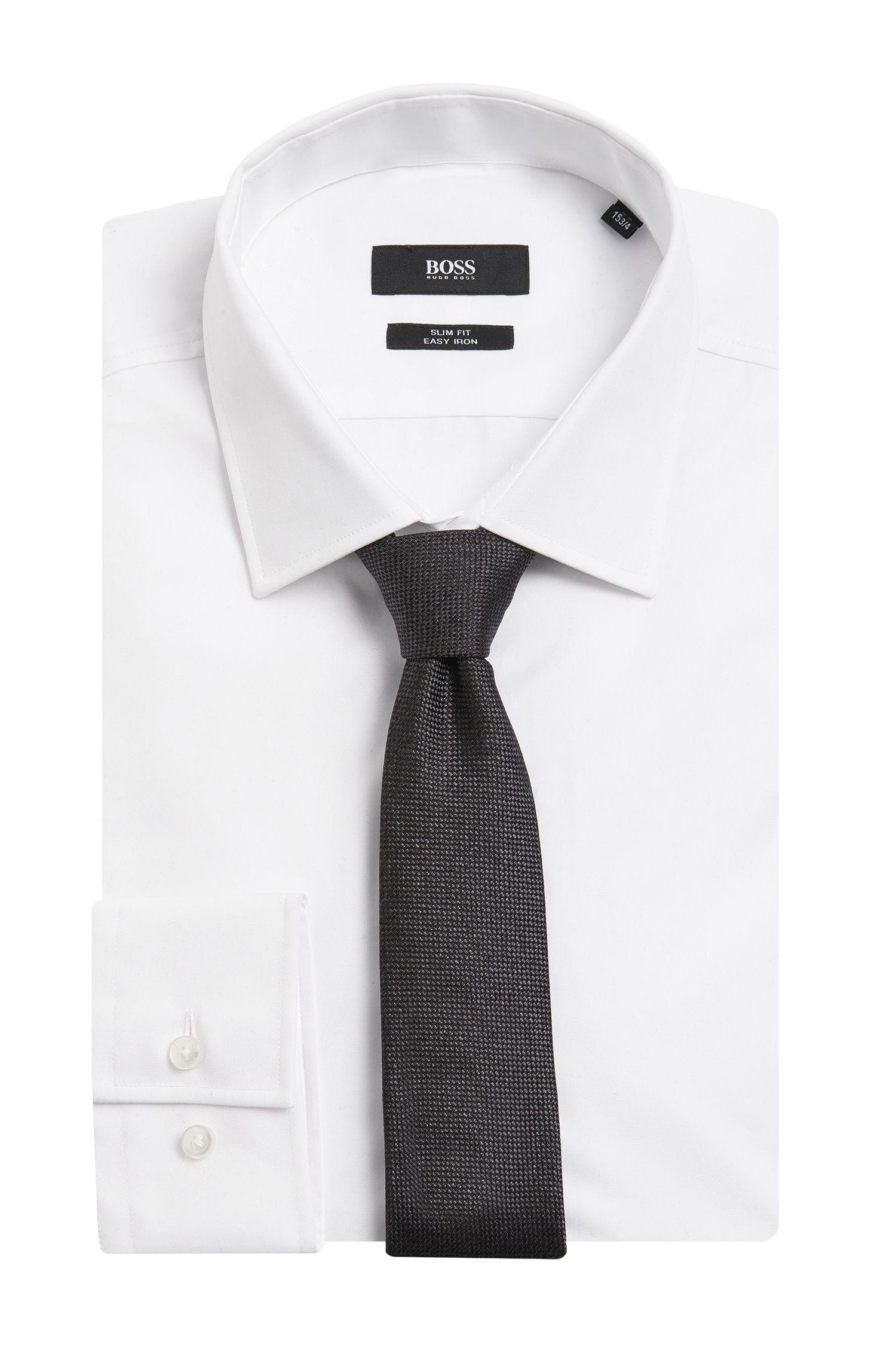 Melierte Krawatte aus Seide: 'Tie 6 cm'