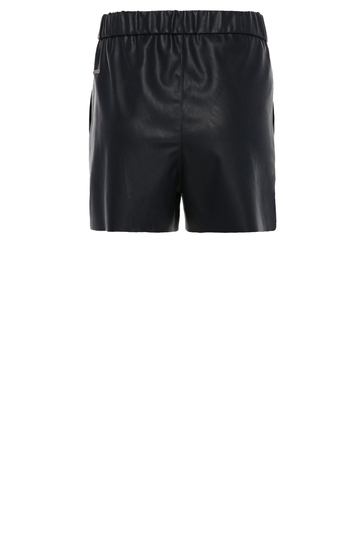 Comfort-Fit Shorts in Lederoptik: ´Salony`
