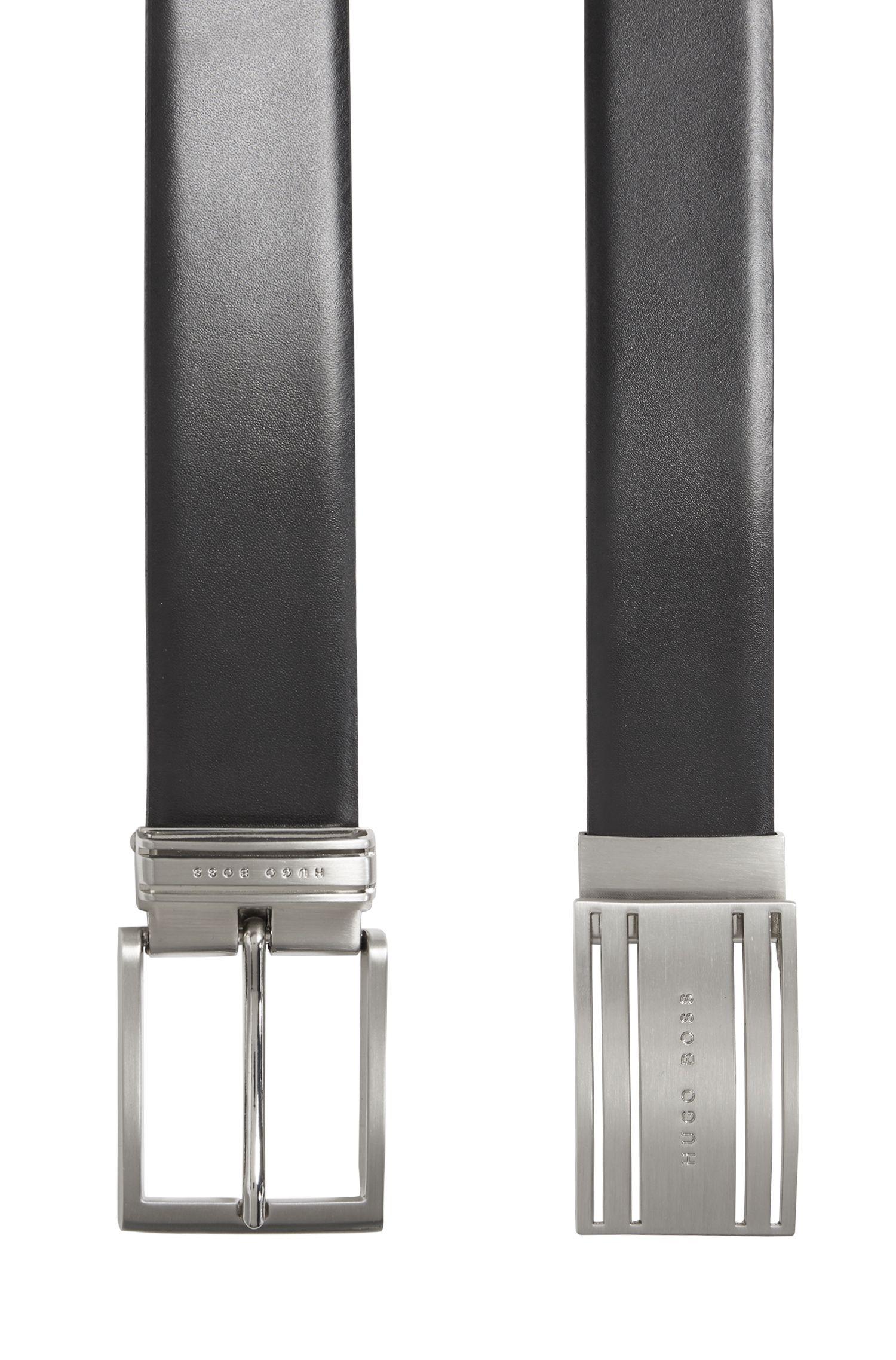 Tweezijdig te dragen ceintuur met twee verwisselbare gespen: 'Galen_Gb35_ps'