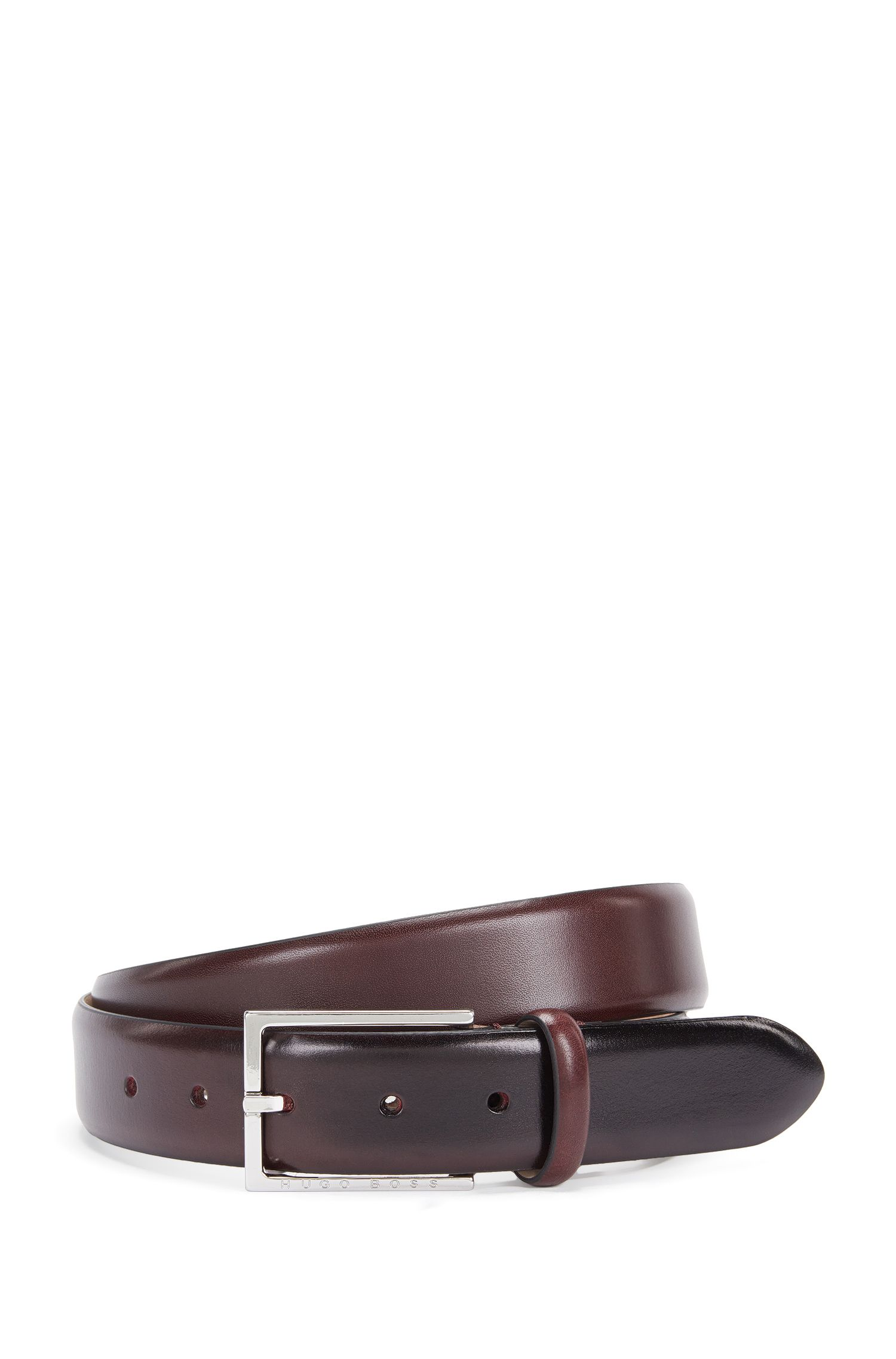 Ceinture en cuir faite main : « Ceretio_Sz35_ltpl »