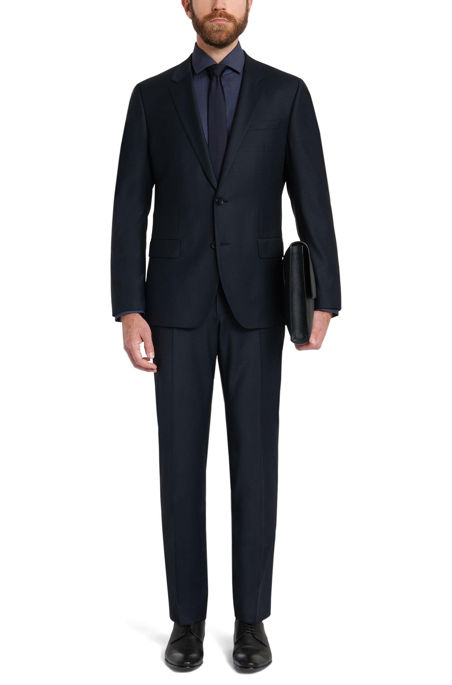 Regular-Fit Hemd aus Baumwolle mit extralangen Ärmeln: 'Gordon'