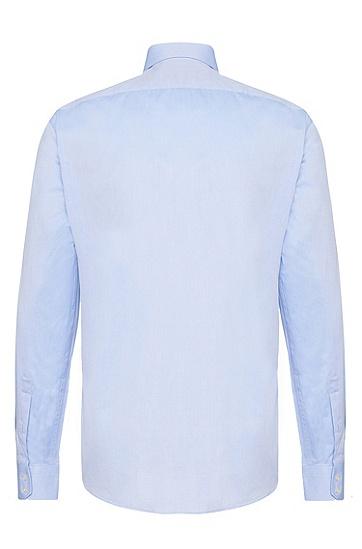 Regular-Fit Hemd aus Baumwolle mit französischen Sportmanschetten: 'Enzo', Hellblau