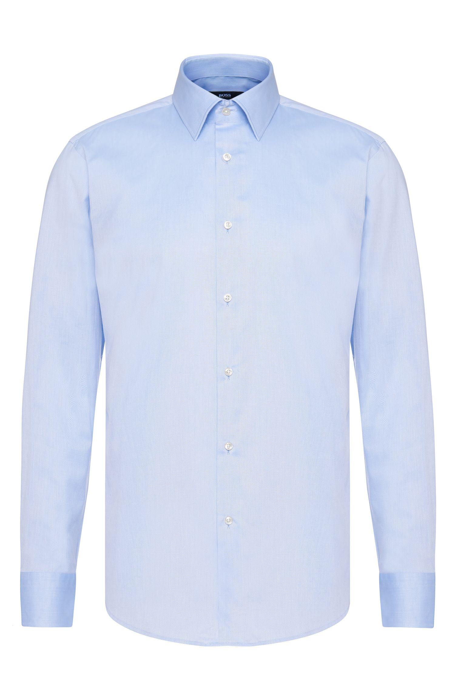 Chemise Regular Fit en coton, à poignets français sportifs: «Enzo»
