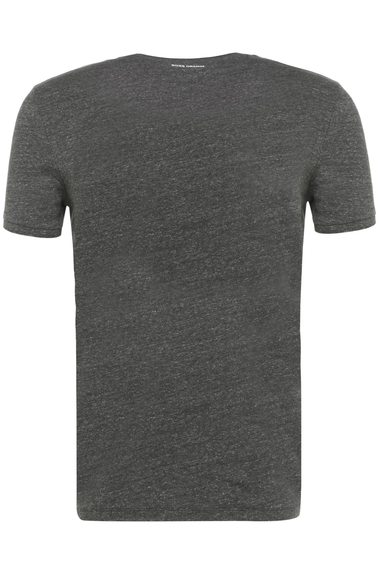 Baumwoll-T-Shirt mit Frontprint: ´Tye`