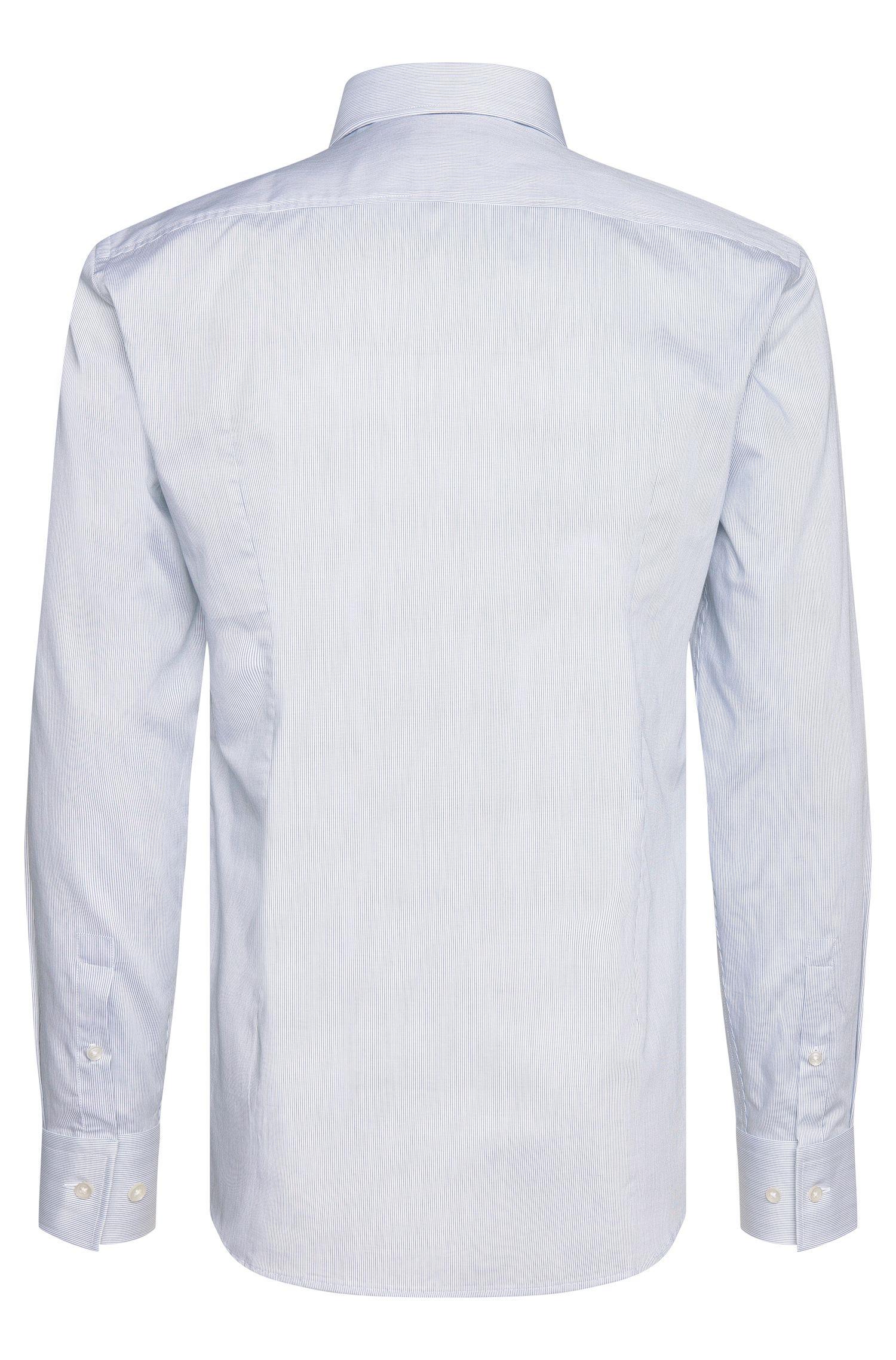 Gestreiftes Slim-Fit Hemd aus Baumwolle: 'Jason'