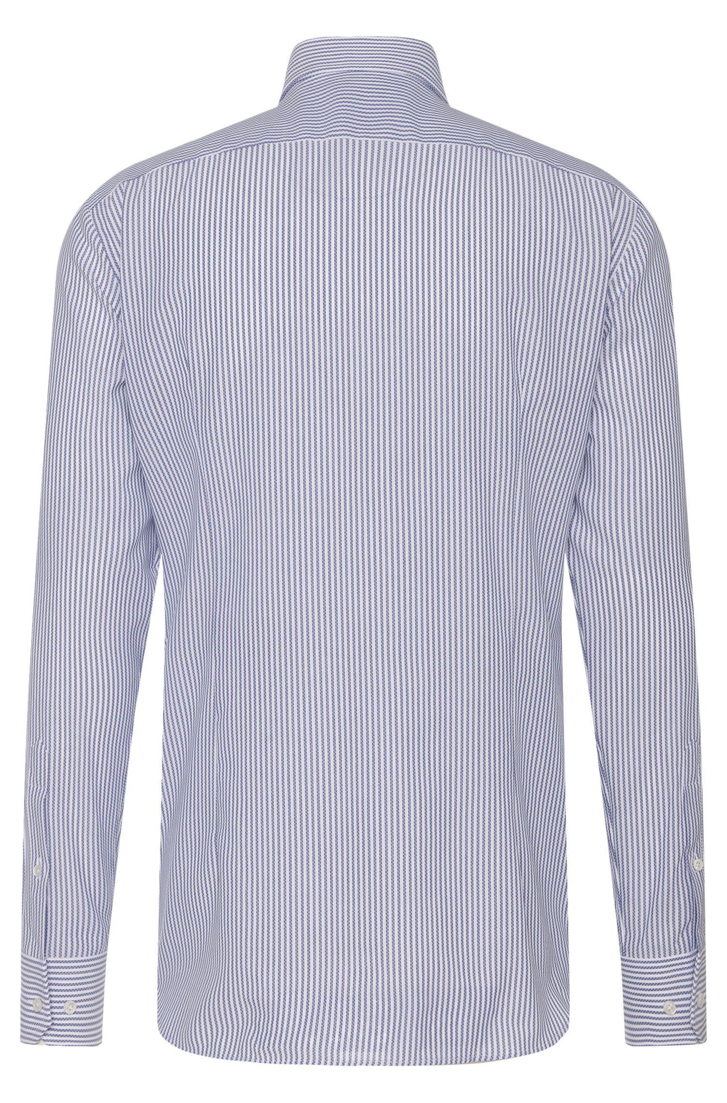 Slim-Fit Tailored Hemd aus reiner Baumwolle: 'T-Christo'