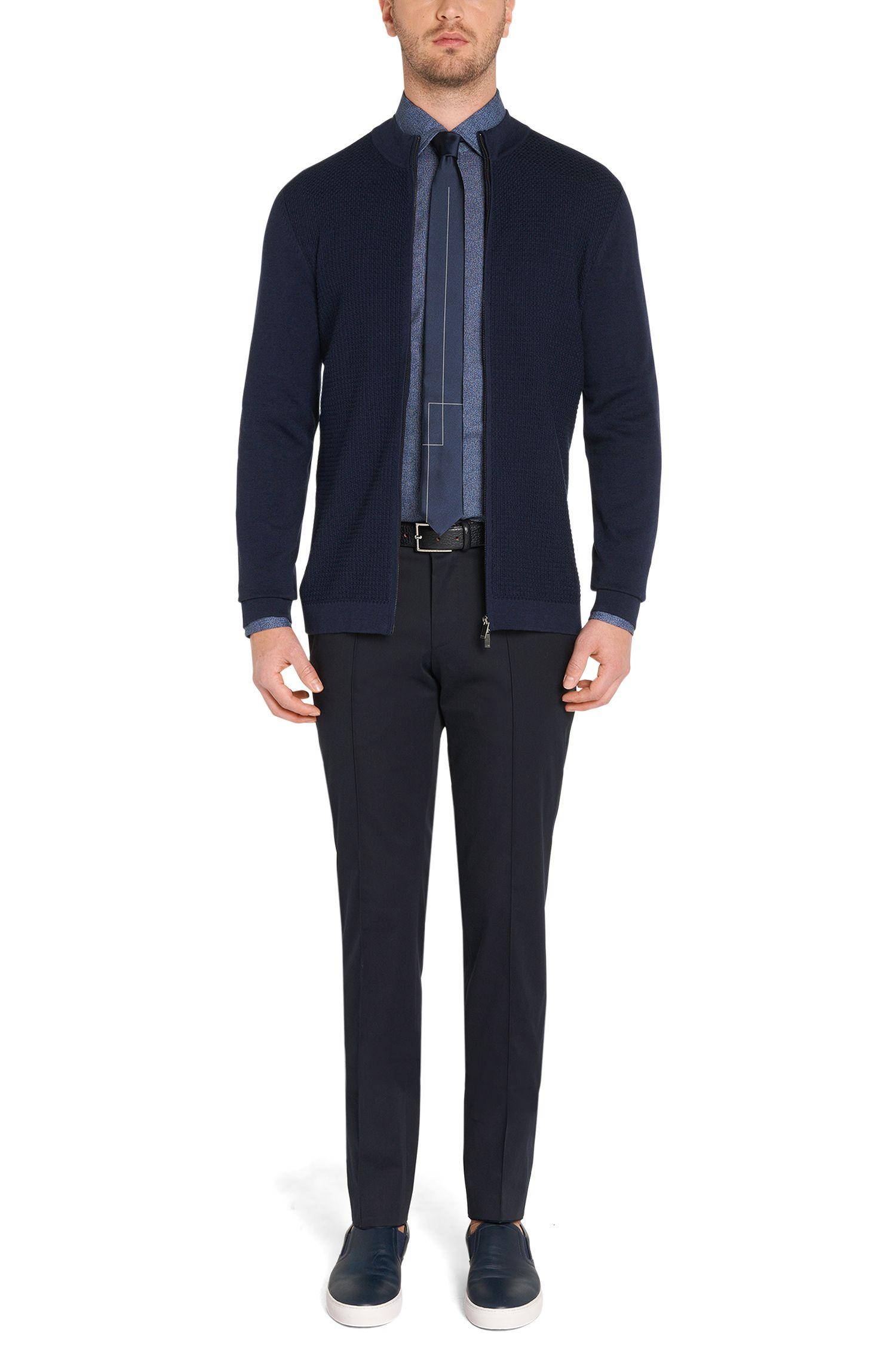 Slim-Fit Hemd aus Baumwolle: 'T-Shane'