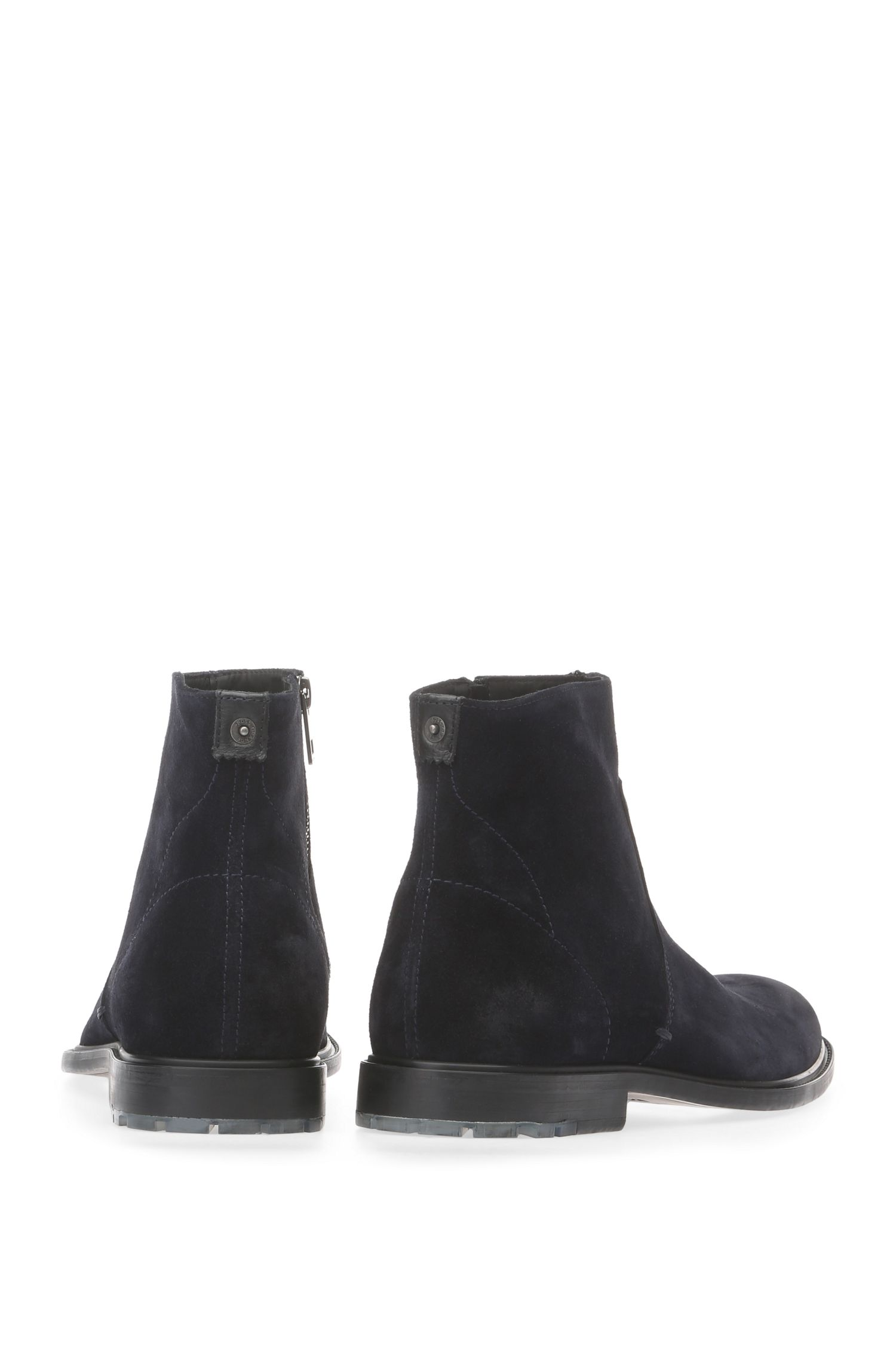 Boots en daim: «Cultroot_Zipb_sdpl»