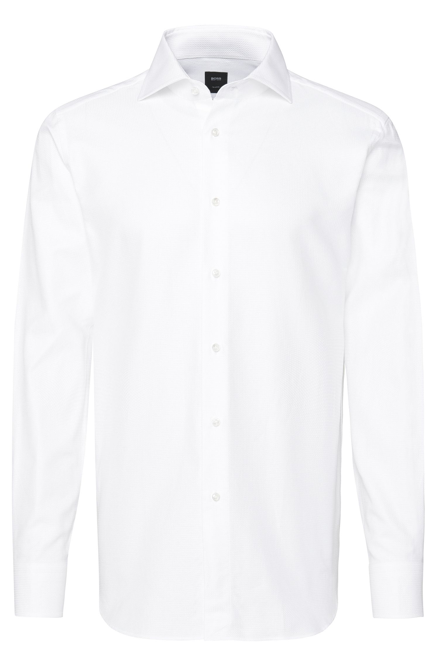 Chemise Regular Fit Tailored en pur coton : « T-Stenson »