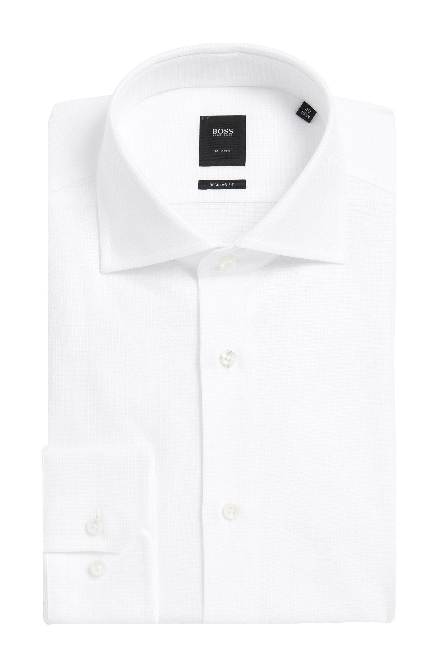 Regular-fit overhemd van zuivere katoen uit de Tailored-collectie: 'T-Stenson'