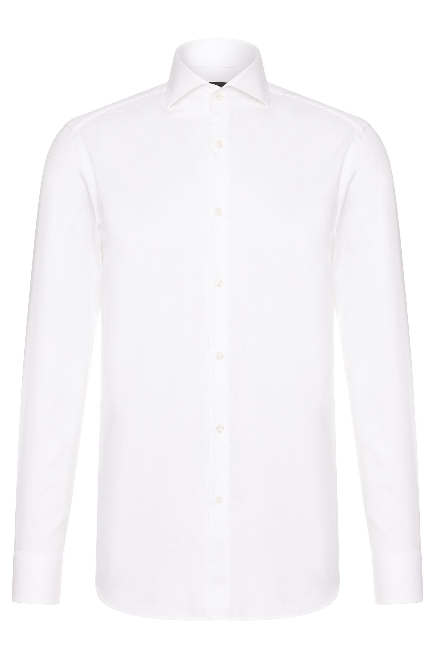 Chemise Slim Fit Tailored en coton : « T-Christo »