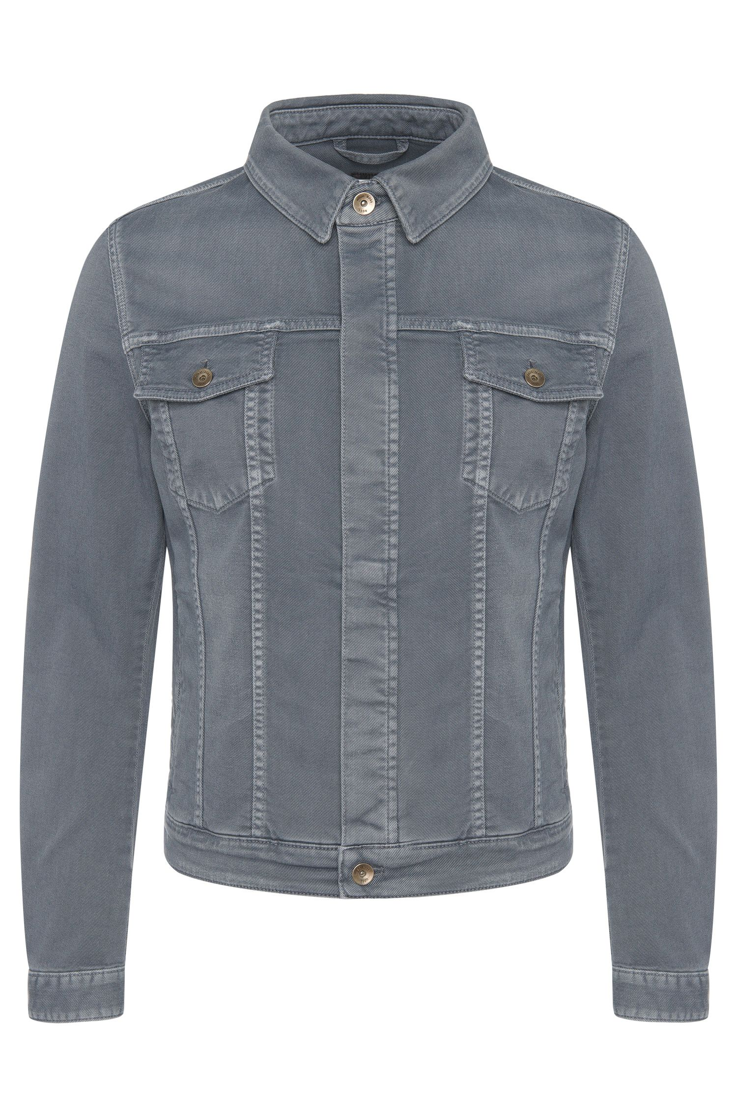 Slim-Fit Jeansjacke aus Stretch-Baumwolle: 'Windham2'
