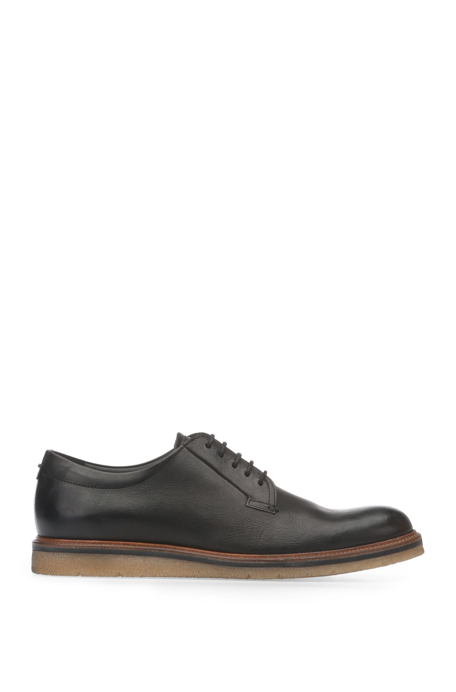 Low shoes in smooth leather: 'Tuned_Derb_ltpl'