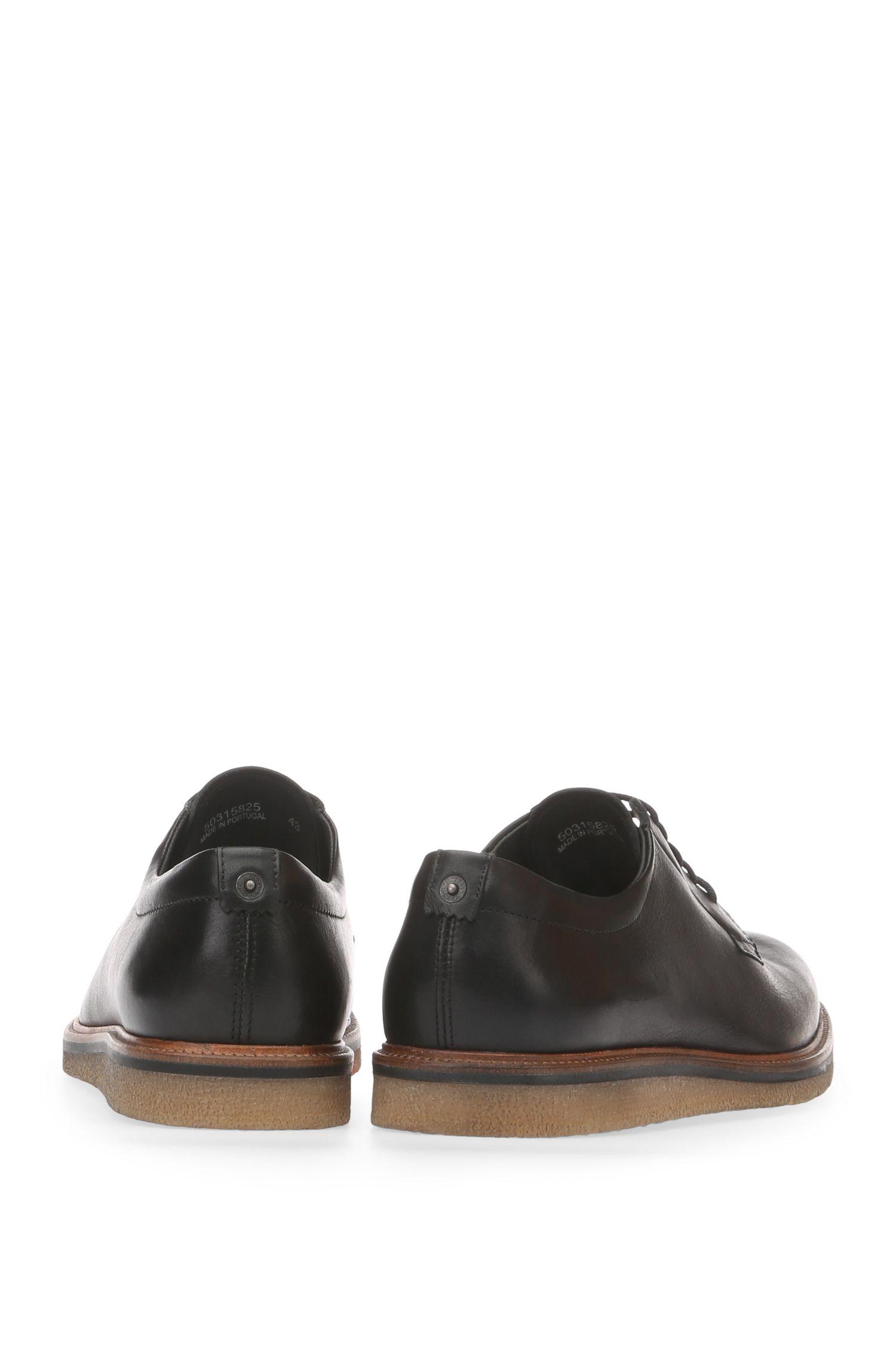 Chaussures basses en cuir lisse: «Tuned_Derb_ltpl»