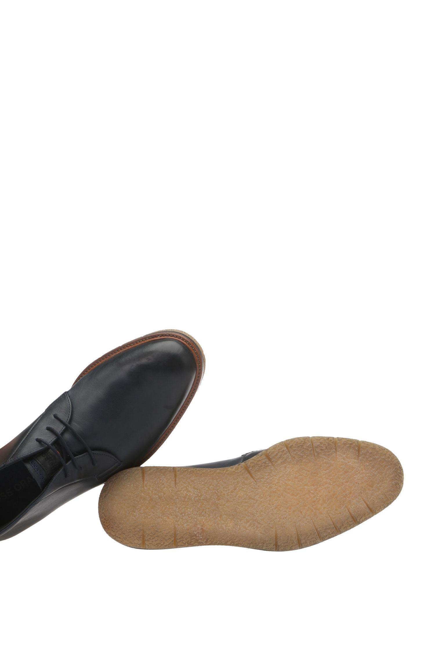 Chaussures à lacets hauteur chevilles, en cuir lisse: «Tuned_Desb_ltpl»