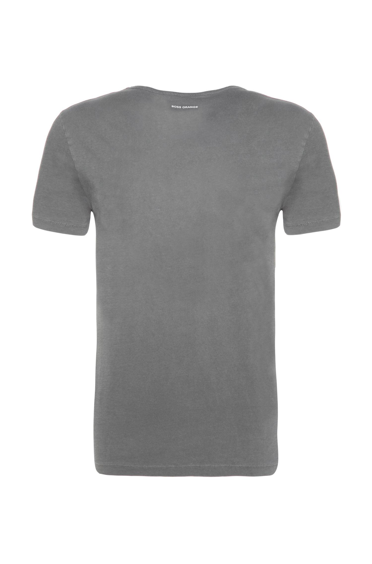 Regular-Fit Print-Shirt aus Baumwolle: ´Traprock`