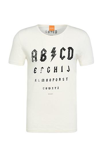 T-shirt imprimé Regular Fit en coton: «Traprock», Chair