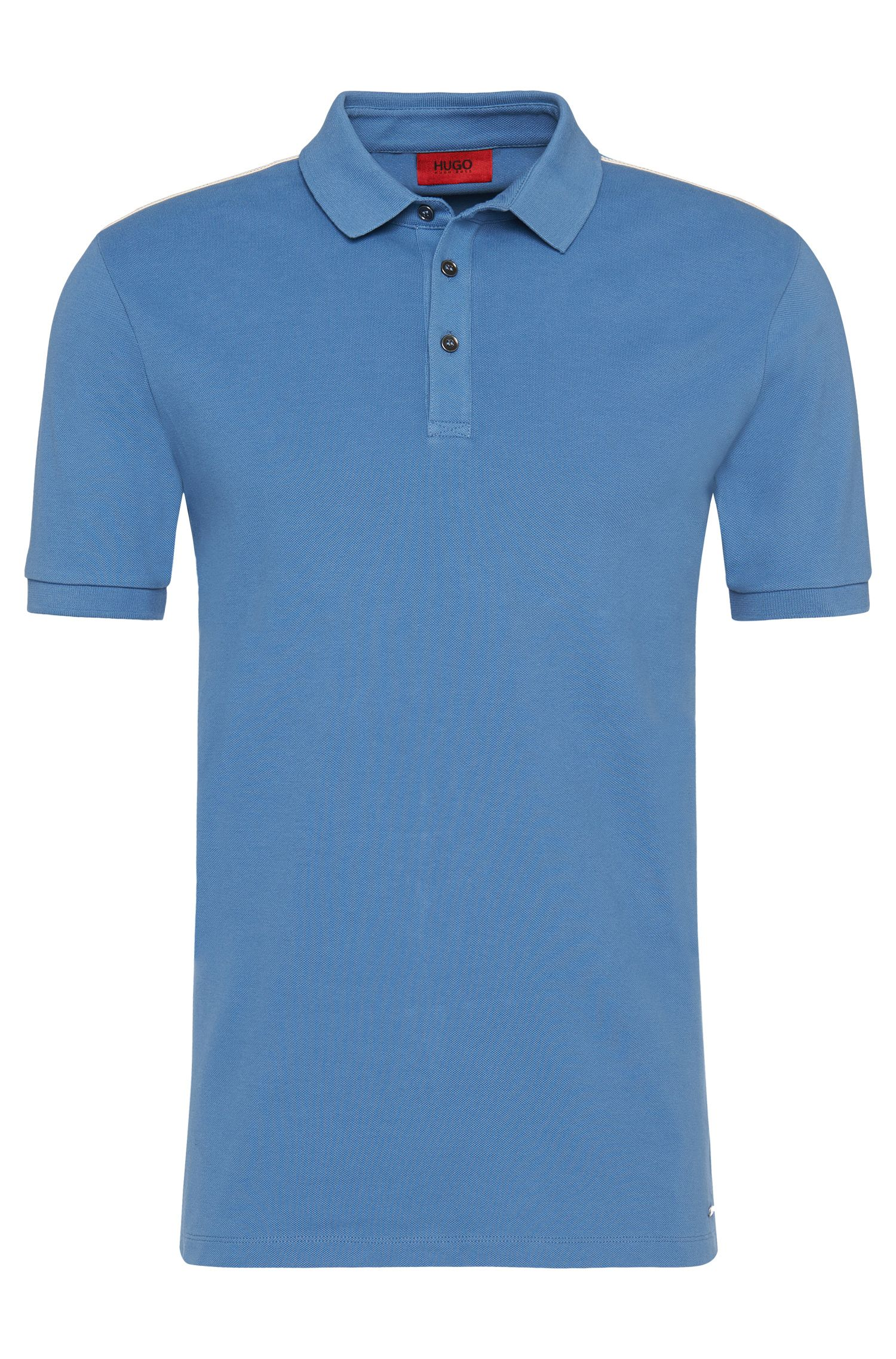 Regular-Fit Poloshirt aus Stretch-Baumwolle: 'Dasti'