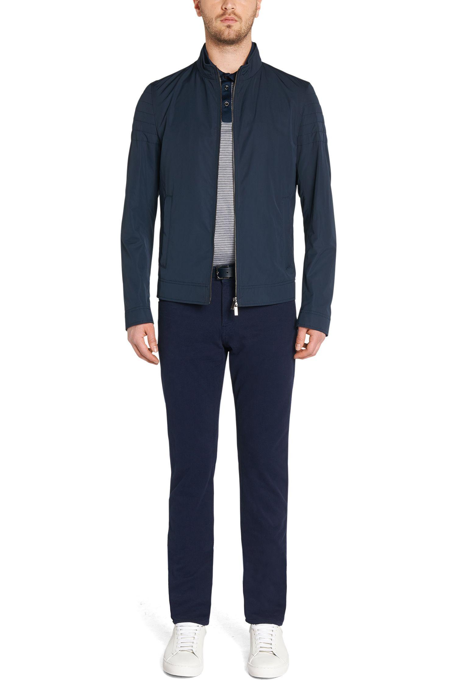 Slim-Fit Jeans aus Baumwoll-Mix mit Kaschmir-Anteil: 'Delaware4-10'