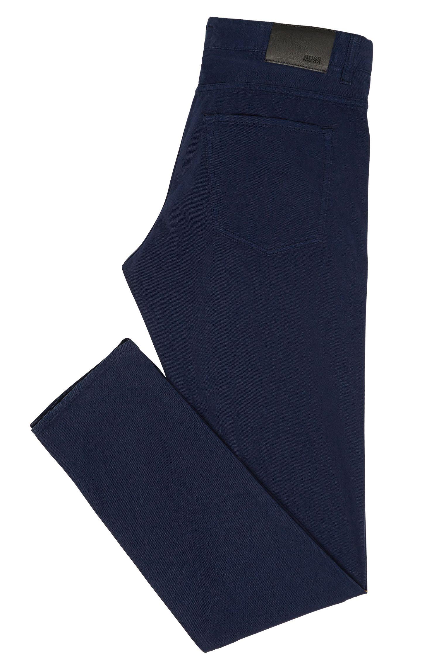 Jeans Slim Fit en coton mélangé, avec du cachemire: «Delaware4-10»