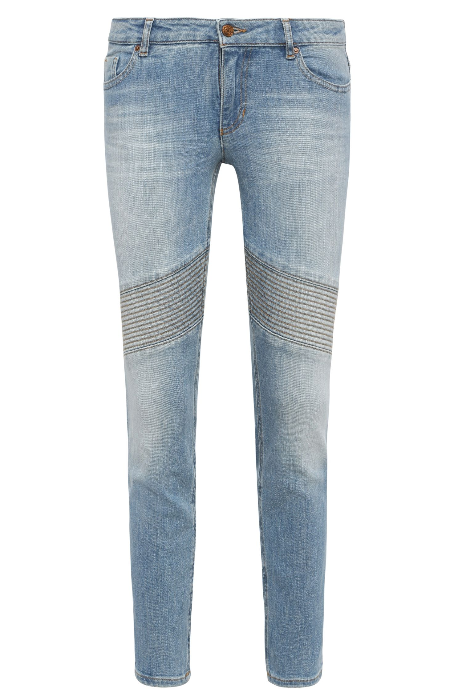 Slim-Fit Jeans aus Baumwoll-Mix mit Elasthan-Anteil: ´Orange J20 Oslo`