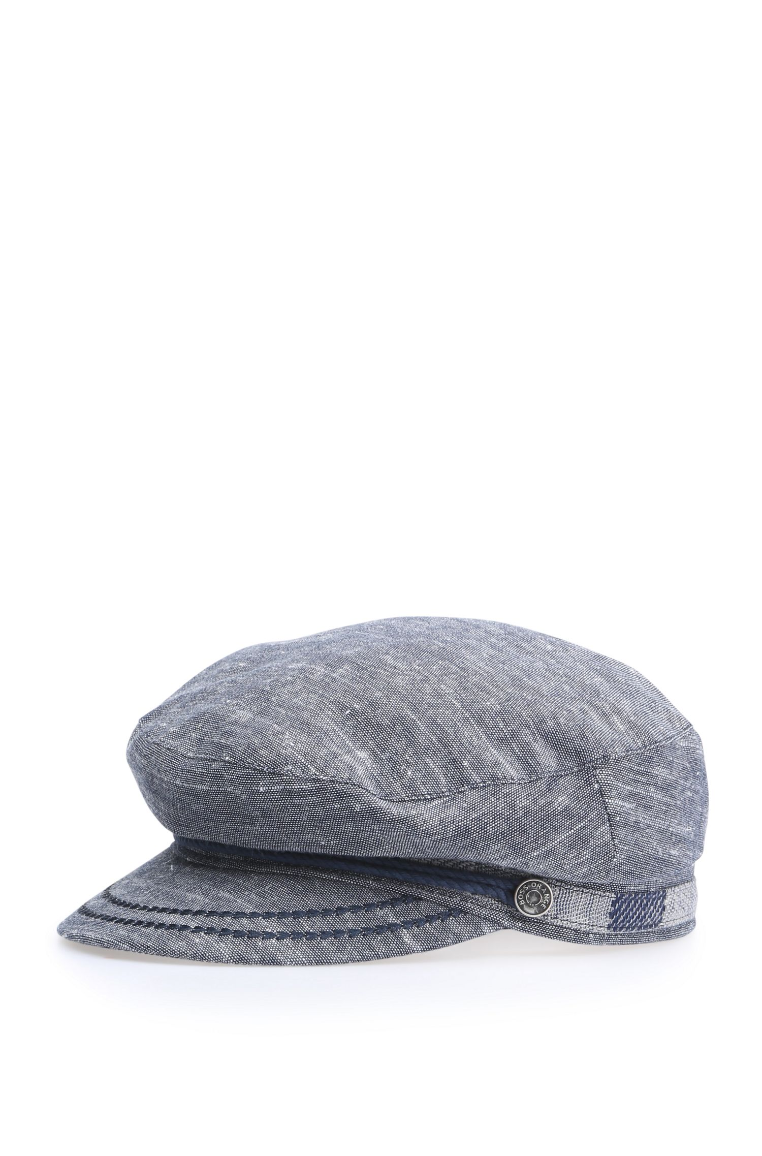 Maritim-inspirierte Mütze aus Baumwoll-Canvas: ´Falexa`
