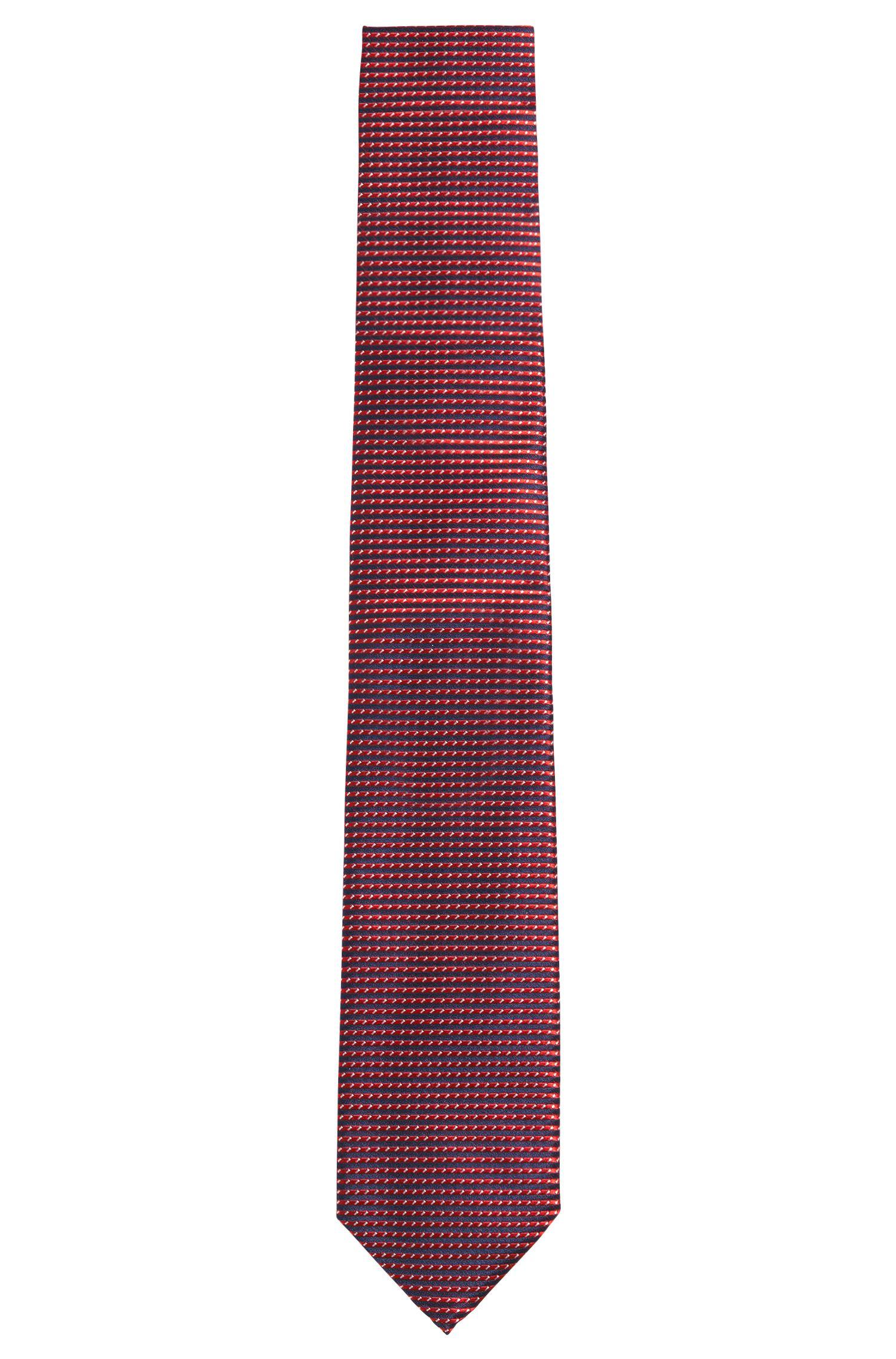 Gestreifte Krawatte aus Seide: 'Tie 7 cm'