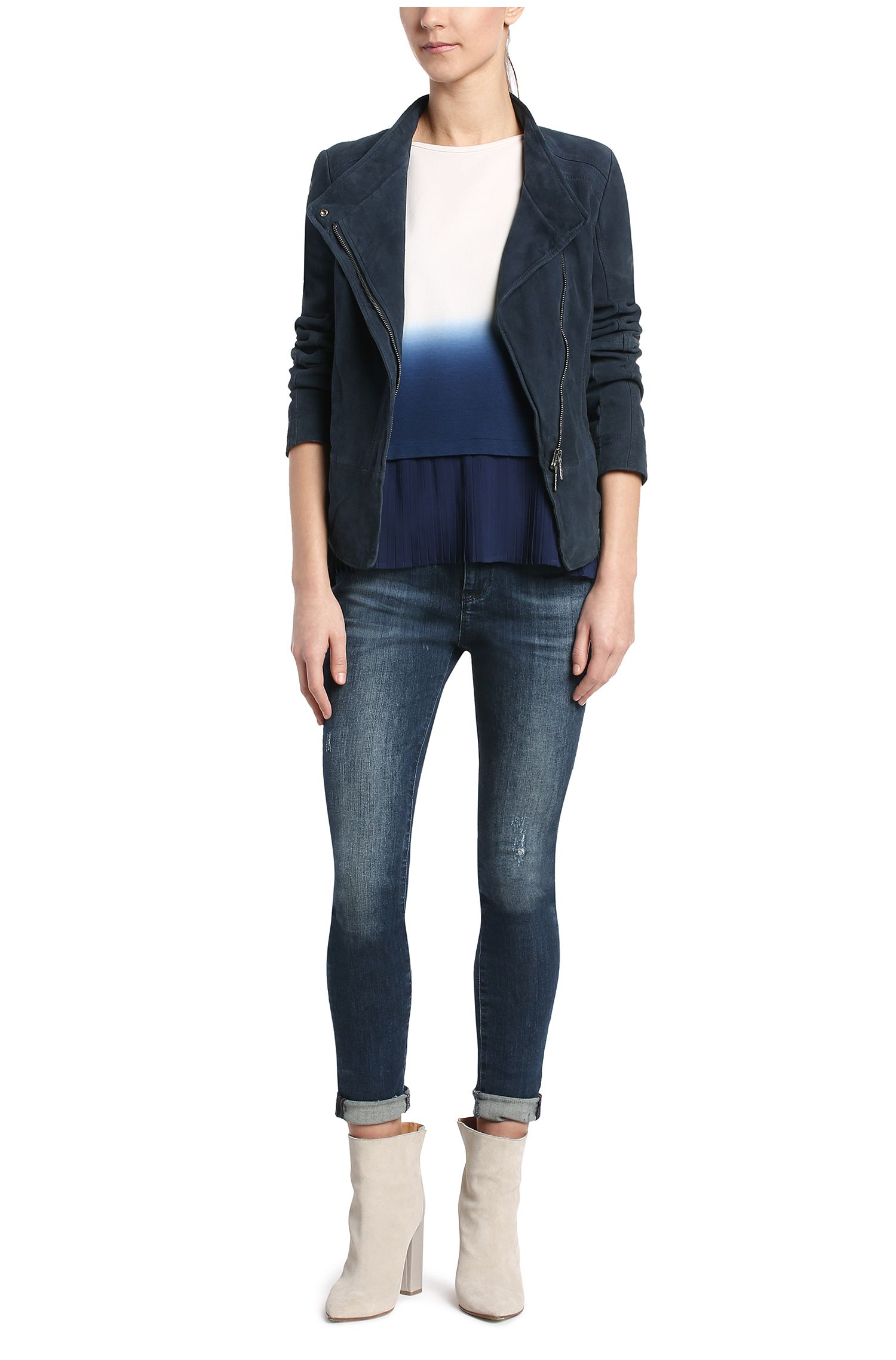 Skinny-Fit Jeans aus Baumwoll-Mix: ´Orange J10 Florida`