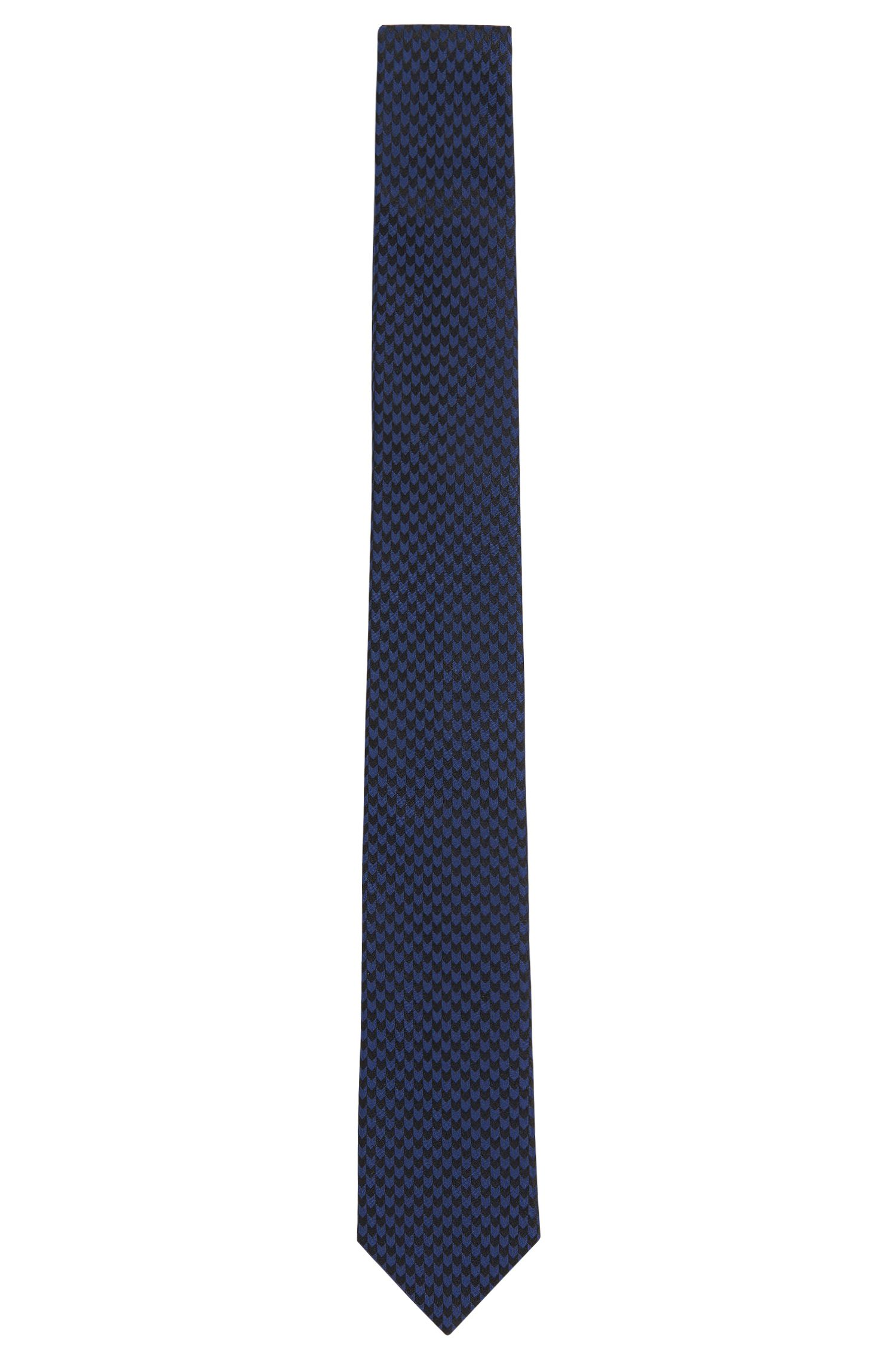 Patterned silk tie: 'Tie 6 cm'