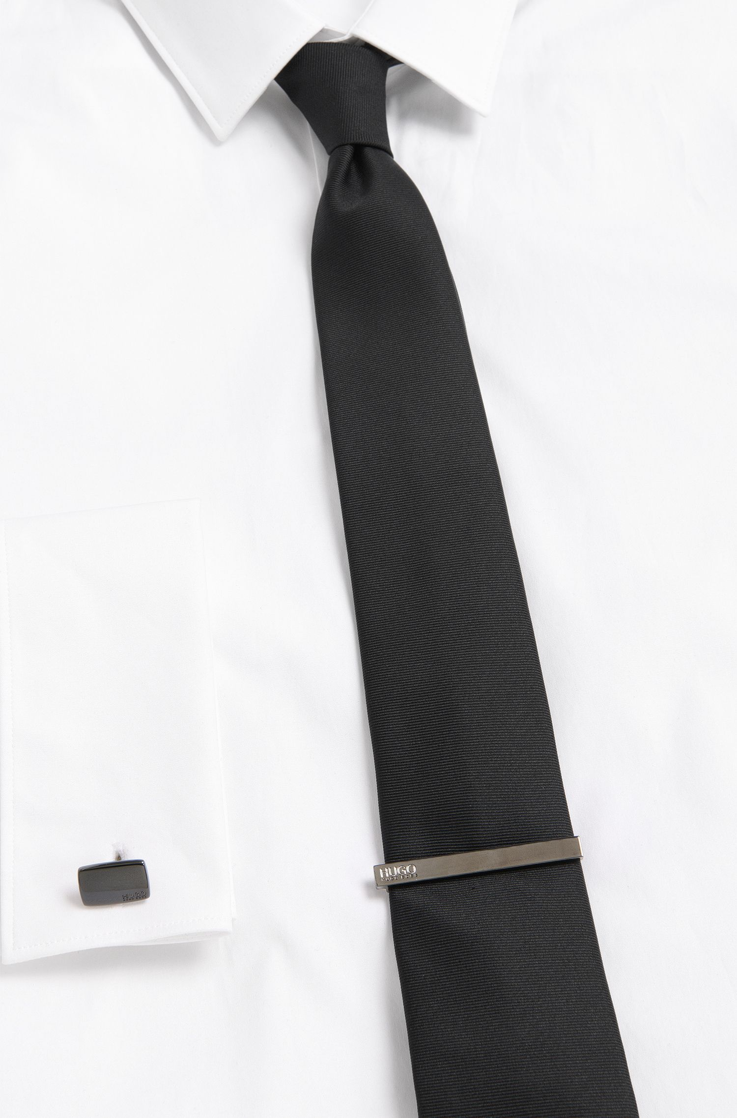 Krawattennadel aus Messing: 'E-HUGO1-TIE BAR'