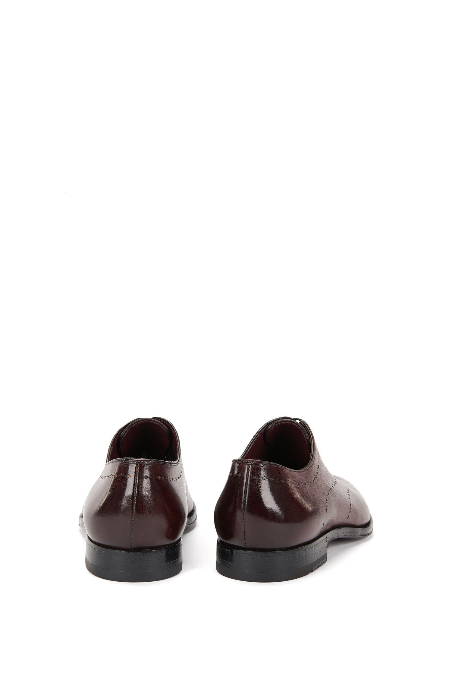 Chaussures à lacets en cuir, à motif ajouré: «T-Sartoria_Oxfr_lt»
