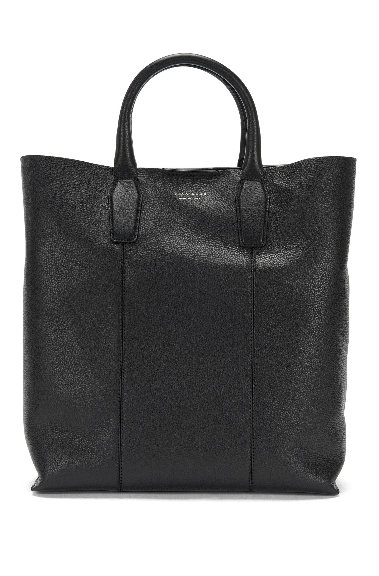 Leather bag with short carrying handles: 'Elite_Tote'