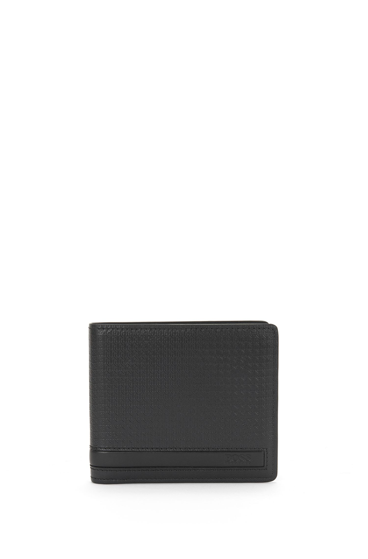 Set with a wallet and card case in embossed leather: 'GbB16PF_8 cc S card'