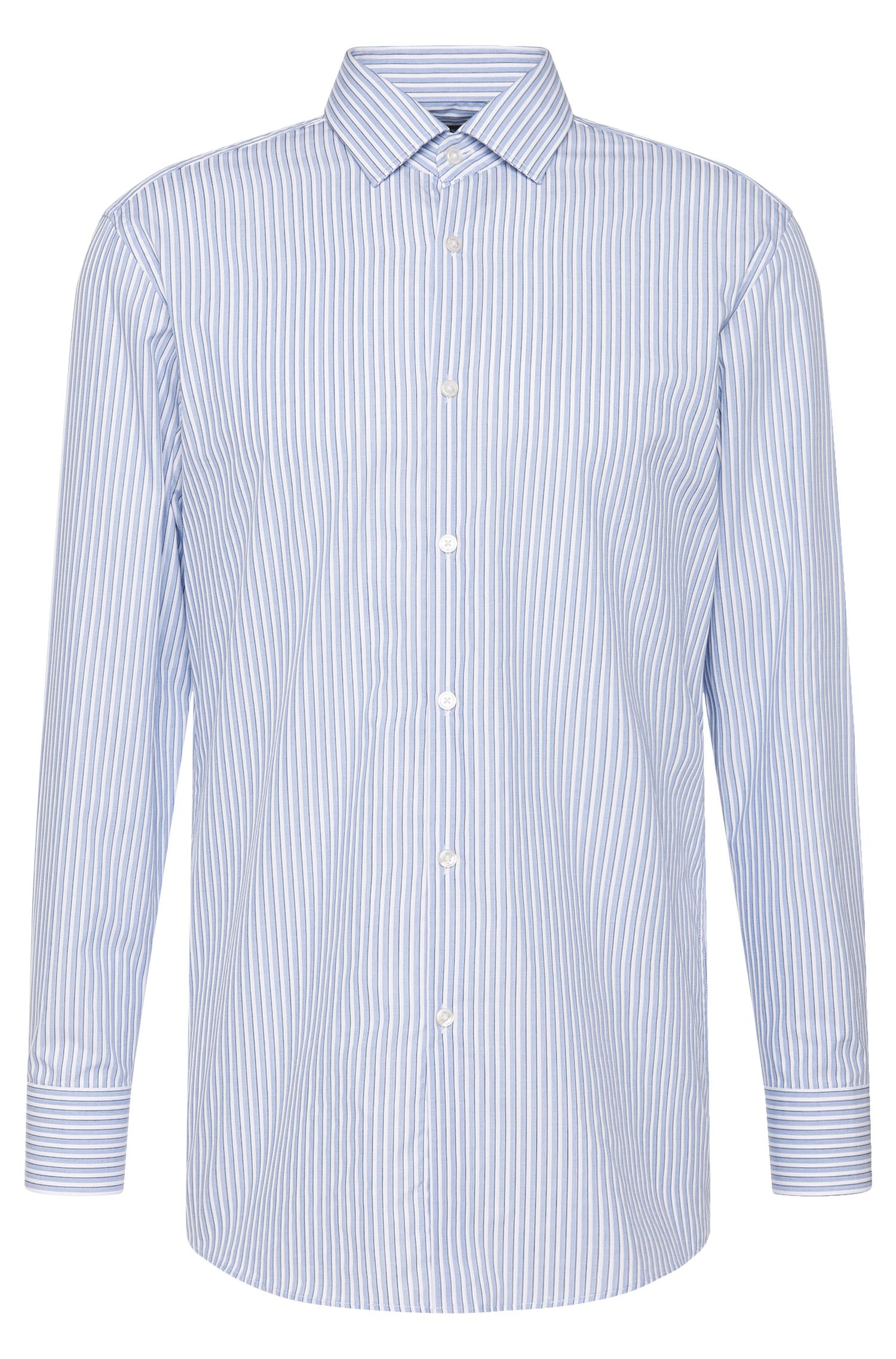 Gestreiftes Slim-Fit Hemd aus Baumwolle: 'Marley US'