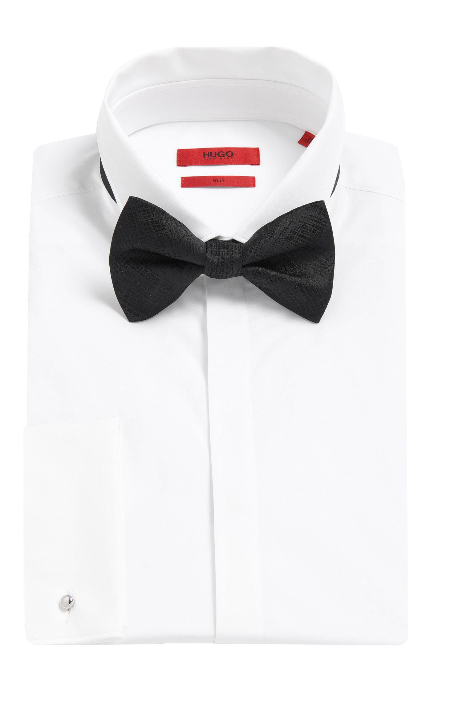 Nœud papillon en soie à motif: «Big bow tie»