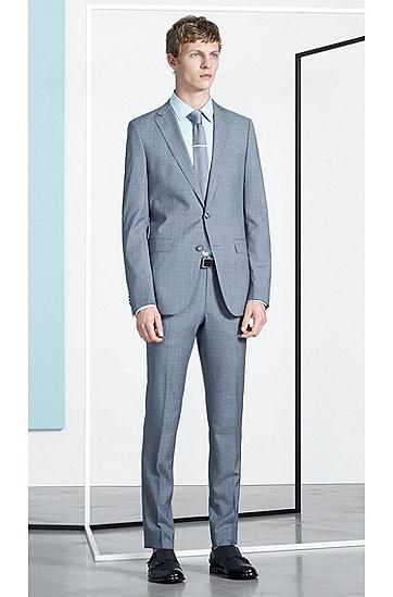 Zweifarbige Krawatte aus reiner Seide: 'Tie 5 cm knitted', Weiß