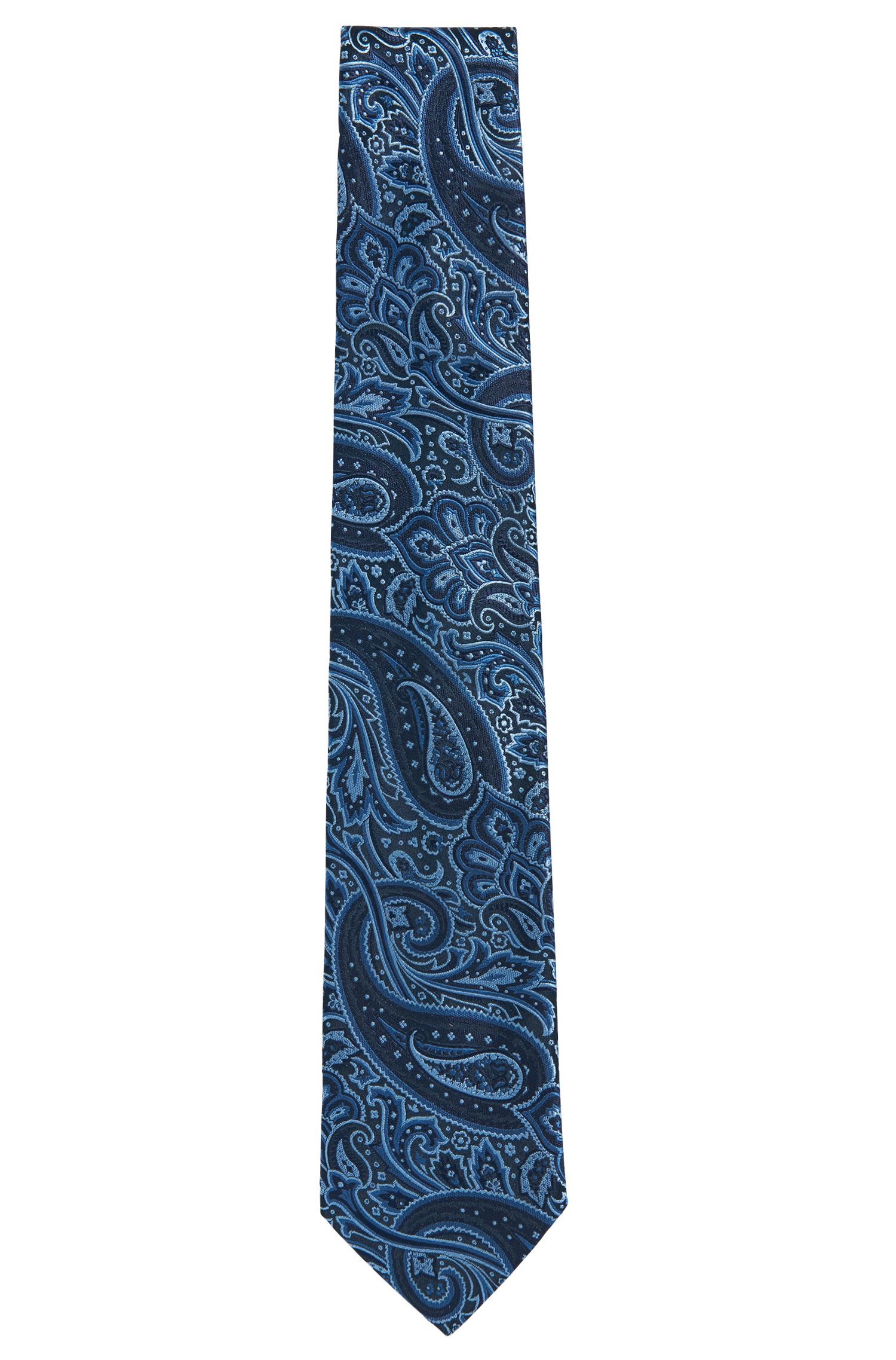Seidenkrawatte mit Paisley-Muster: 'Tie 7,5 cm'