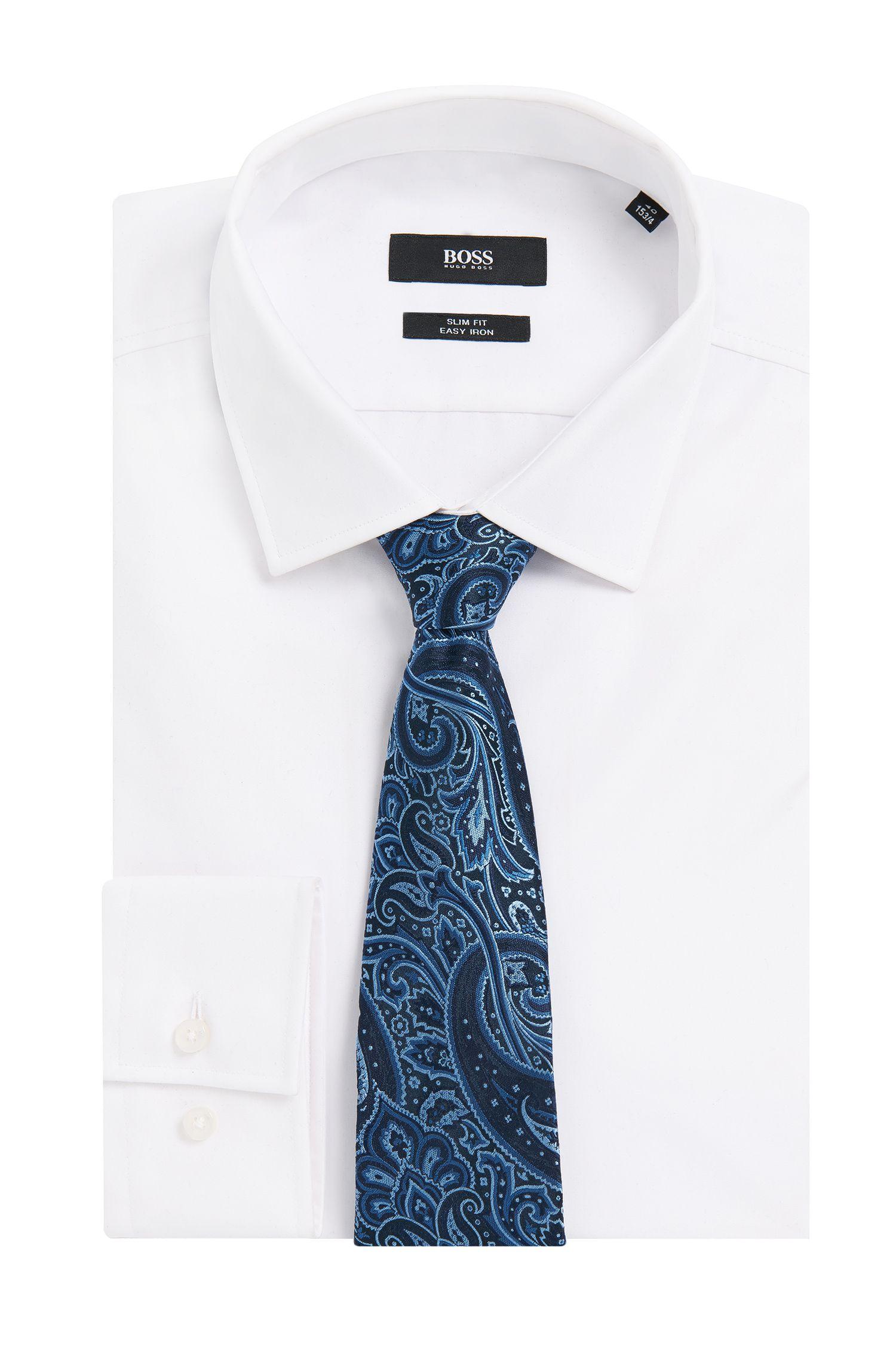 Cravate en soie à motif Paisley: «Tie7,5cm»