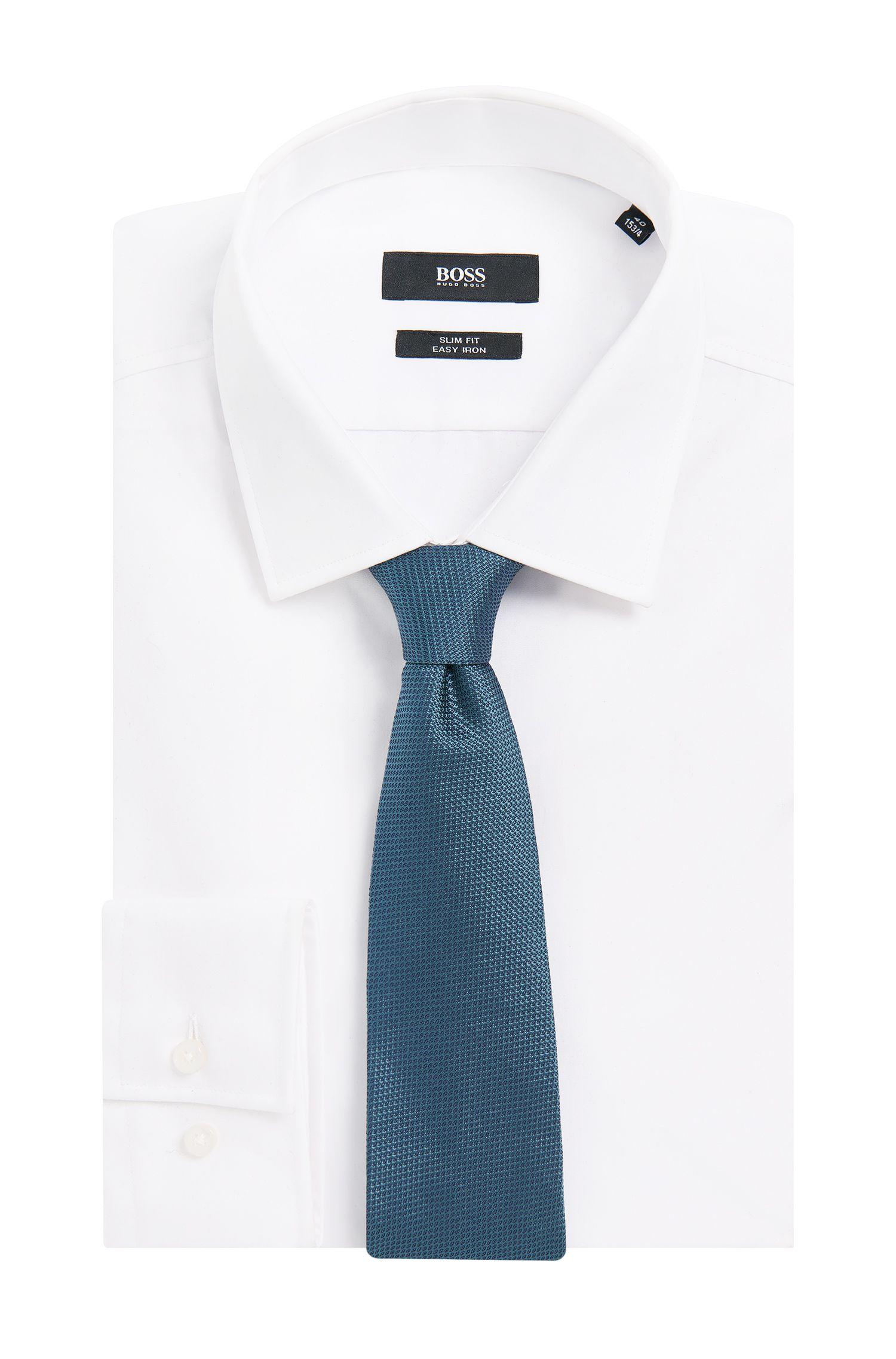 Handgefertigte Krawatte aus Seide: 'T-Tie 7,5 cm'
